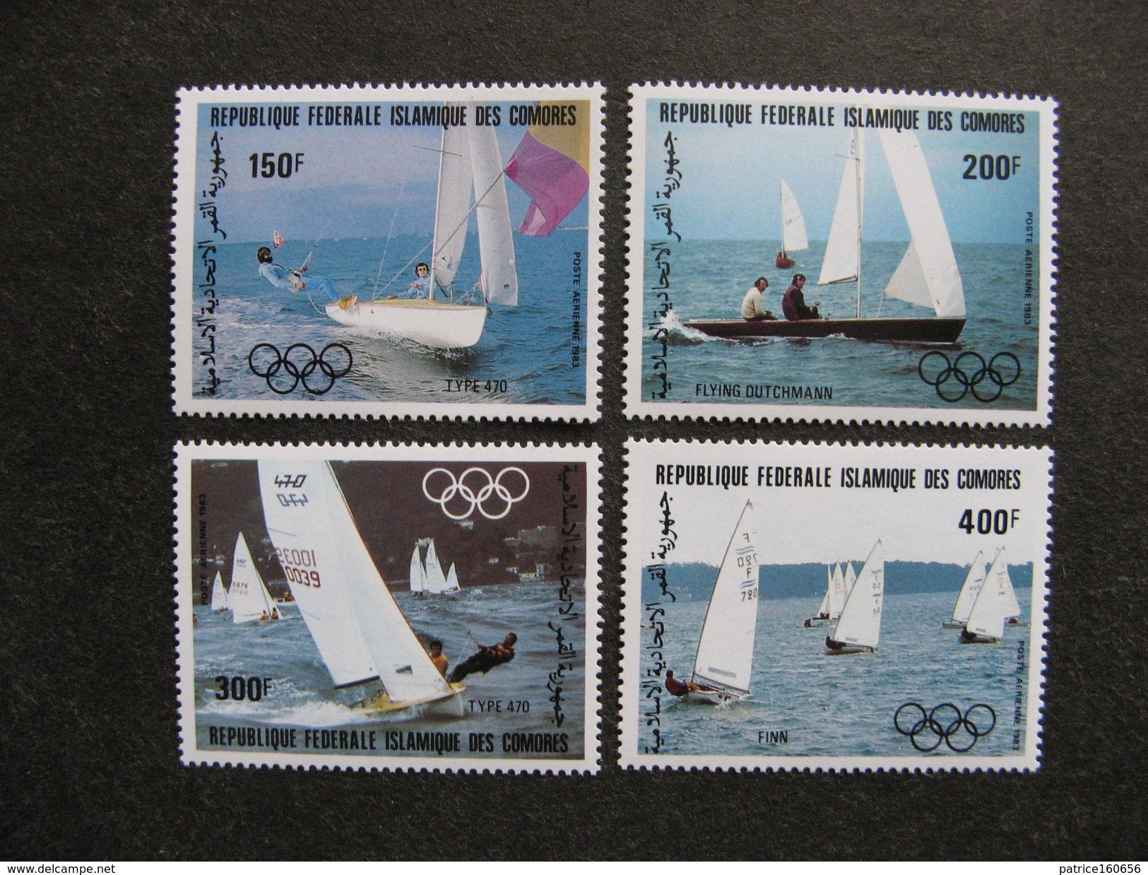 Comores: TB Série PA N° 197 Au N°200, Neufs XX. - Comores (1975-...)