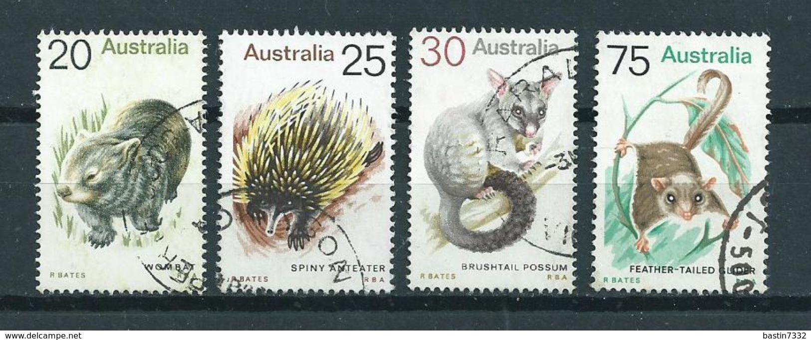 1974 Australia Complete Set Animals,dieren,tiere Used/gebruikt/oblitere - 1966-79 Elizabeth II