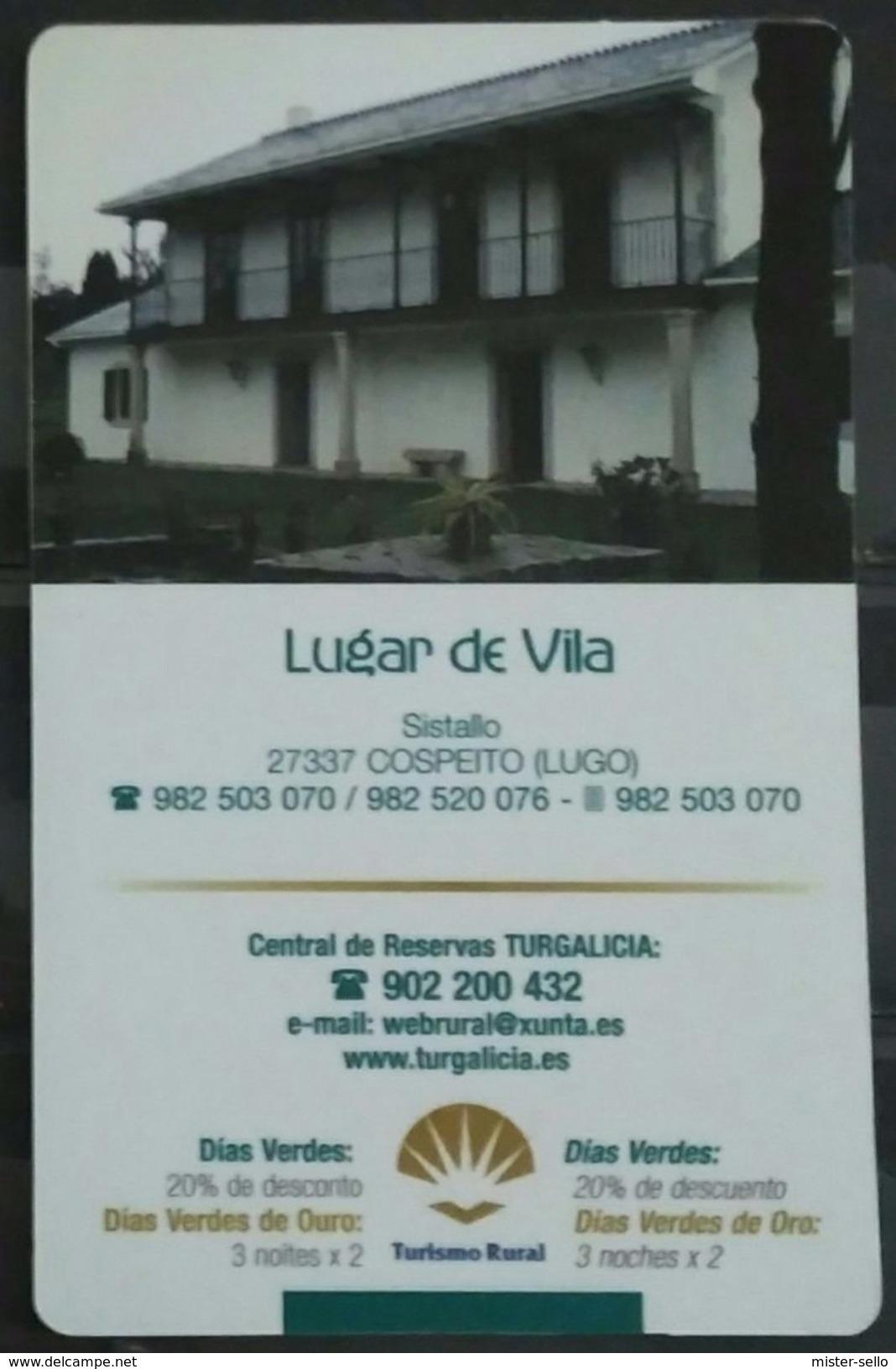 ESPAÑA 2004. CALENDARIO DIAS VERDES. COSPEITO (LUGO). - Calendarios