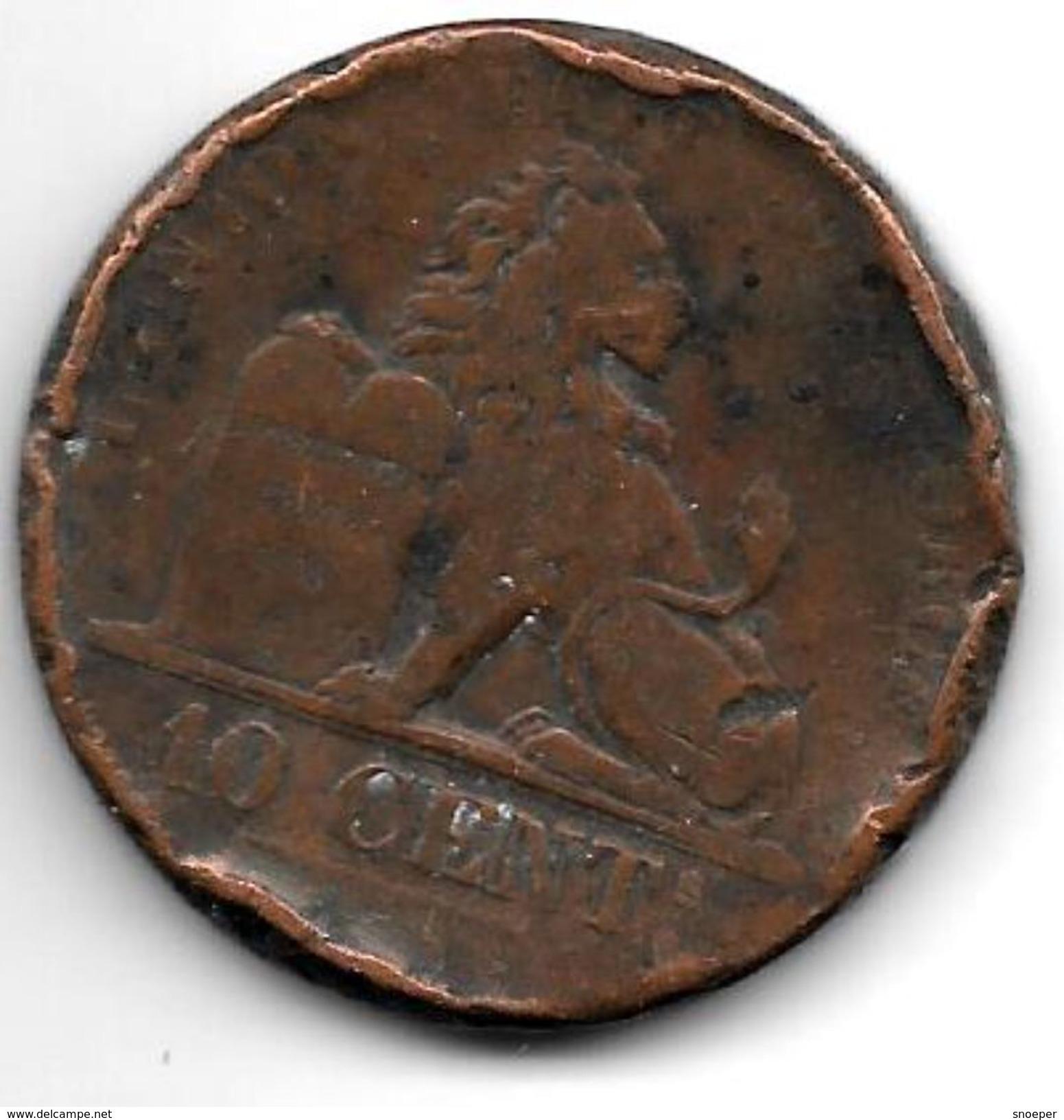 *belguim 10 Centimes  Leopold I  1832  FR - 1831-1865: Léopold I