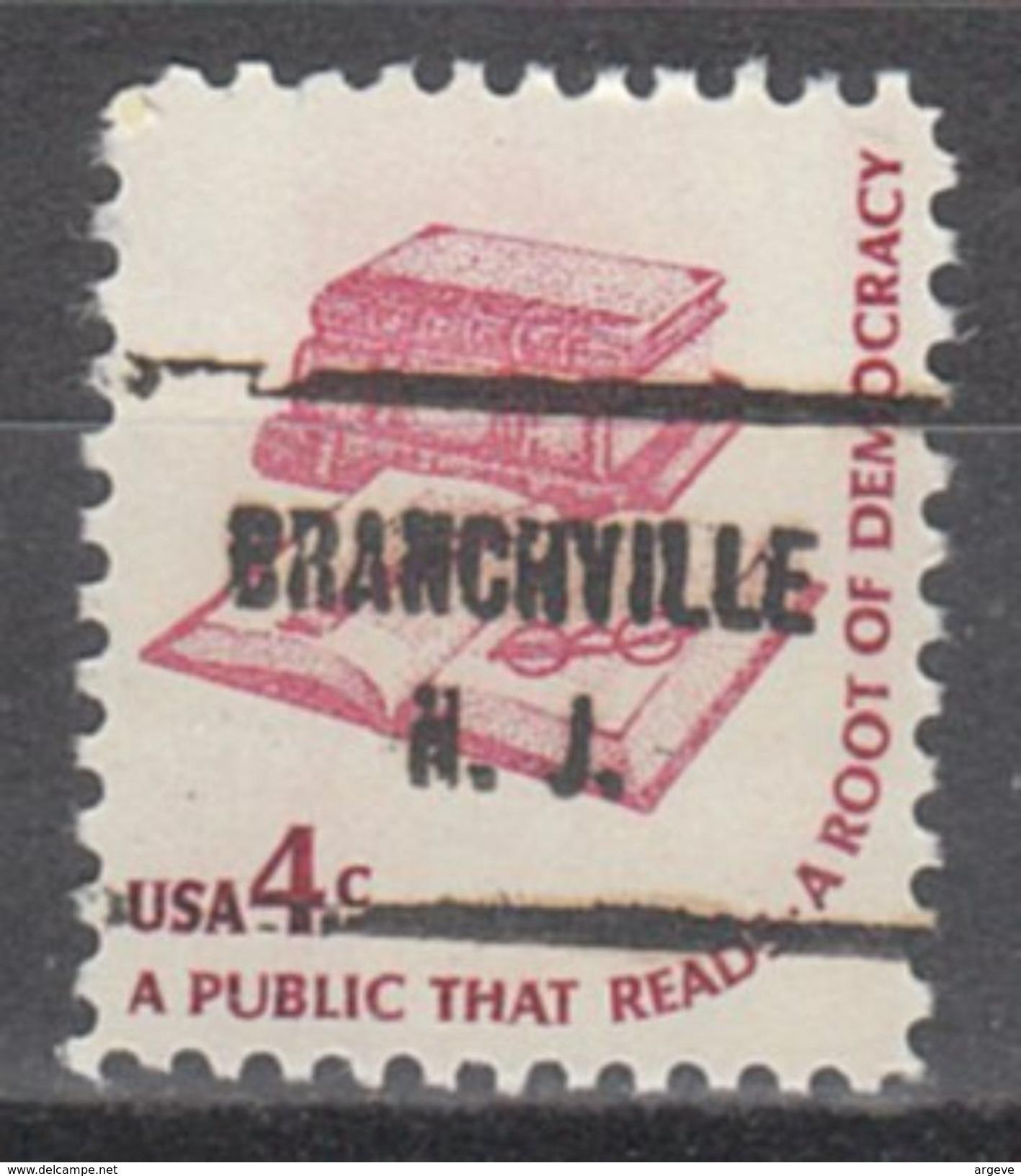 USA Precancel Vorausentwertungen Preo, Locals New Jersey, Branchville 713 - Vereinigte Staaten