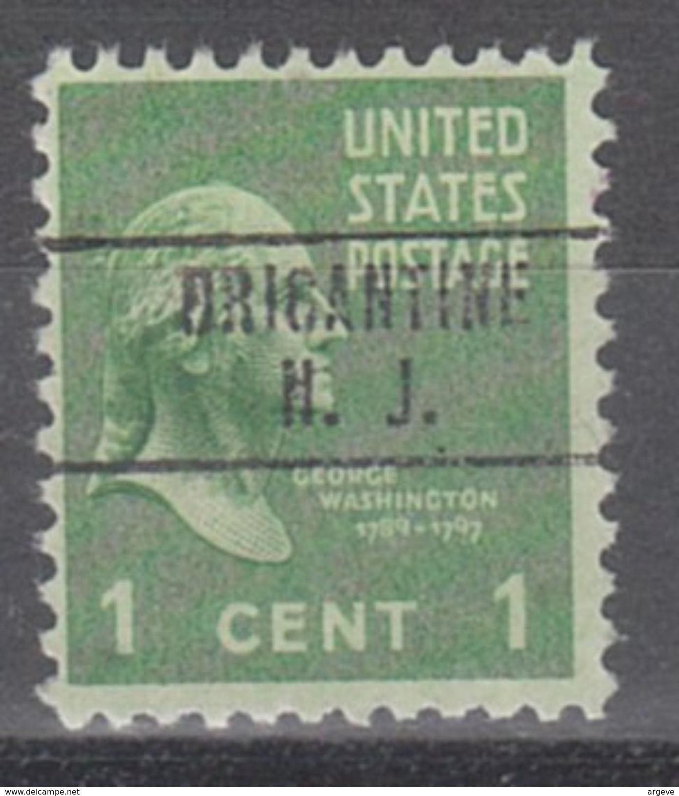 USA Precancel Vorausentwertungen Preo, Locals New Jersey, Brigantine 748 - Vorausentwertungen
