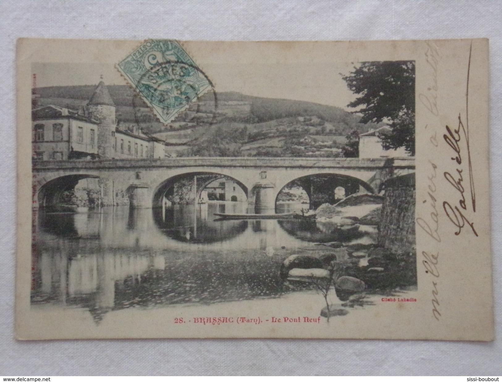 BRASSAC - Le Pont Neuf - CPA - CP - Carte Postale - Brassac