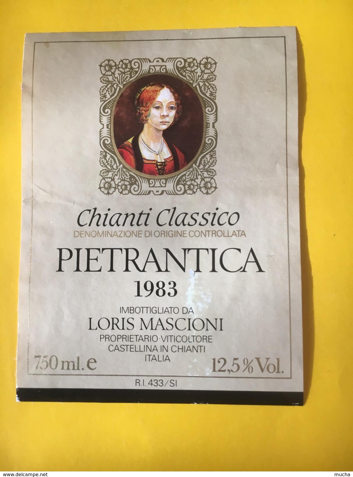 5626 -   Chianti Classico 1983 Pietrantica Italie - Altri