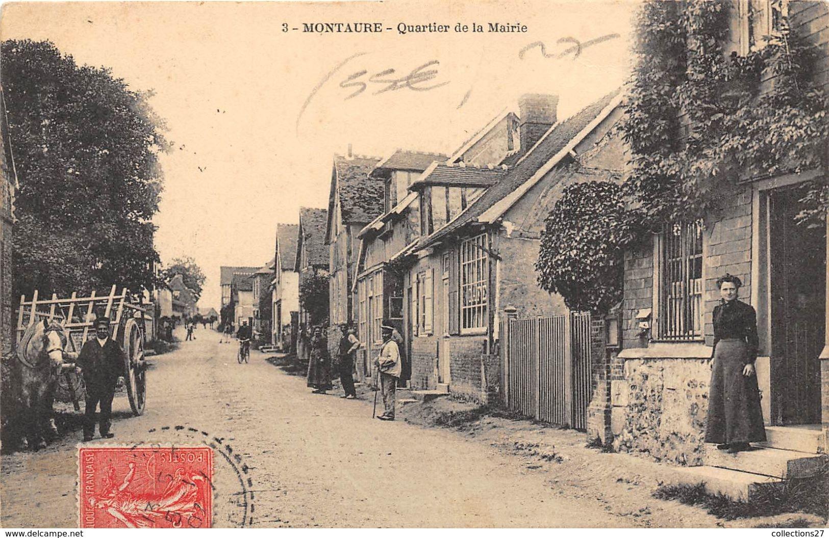 27-MONTAURE- QUARTIER DE LA MAIRIE - Autres Communes