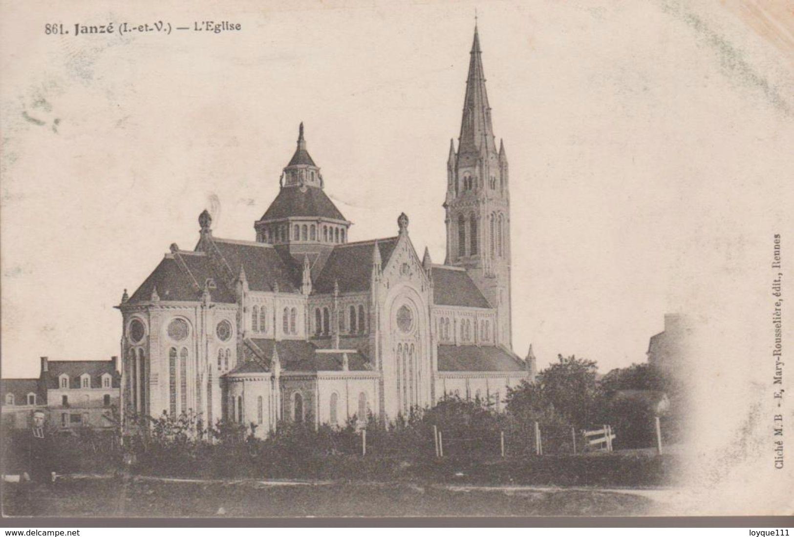 Janzé - L'église - Frankrijk