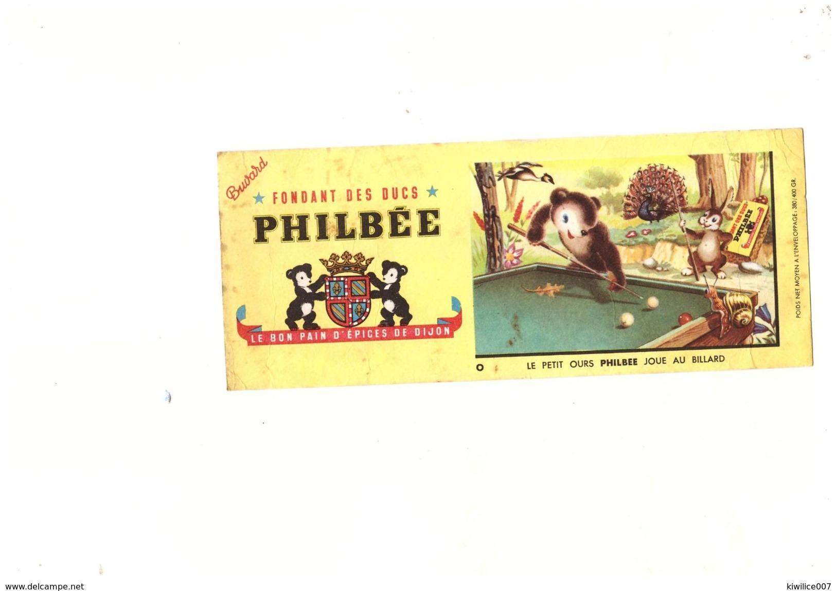5  Buvards  Philbee  Menier  Gringoire  Super-cocotte Seb - Buvards, Protège-cahiers Illustrés