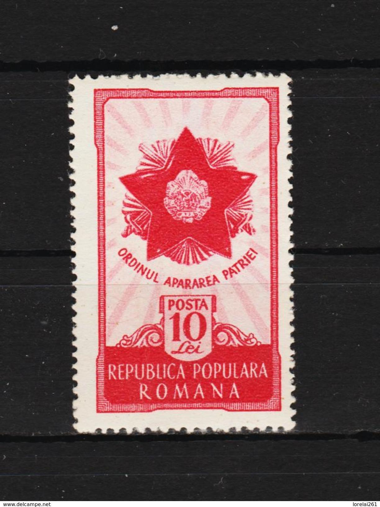 1951 -  7 Anniv. De La Liberation Michel No 1275 Et Yv No 1161 MNH - 1948-.... Republiken
