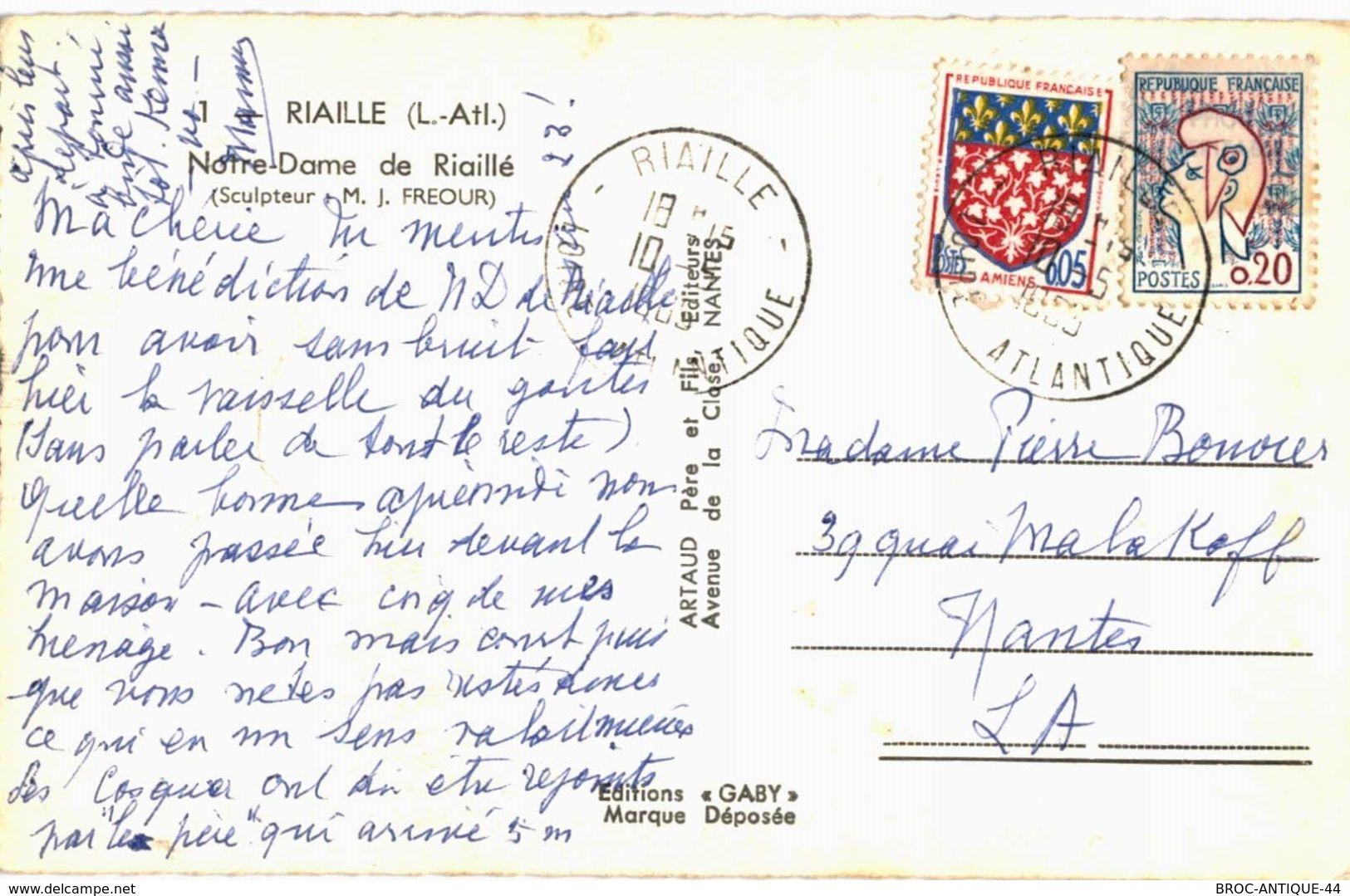 CPA N°13130 - RIAILLE - NOTRE DAME DE RIAILLE - Andere Gemeenten