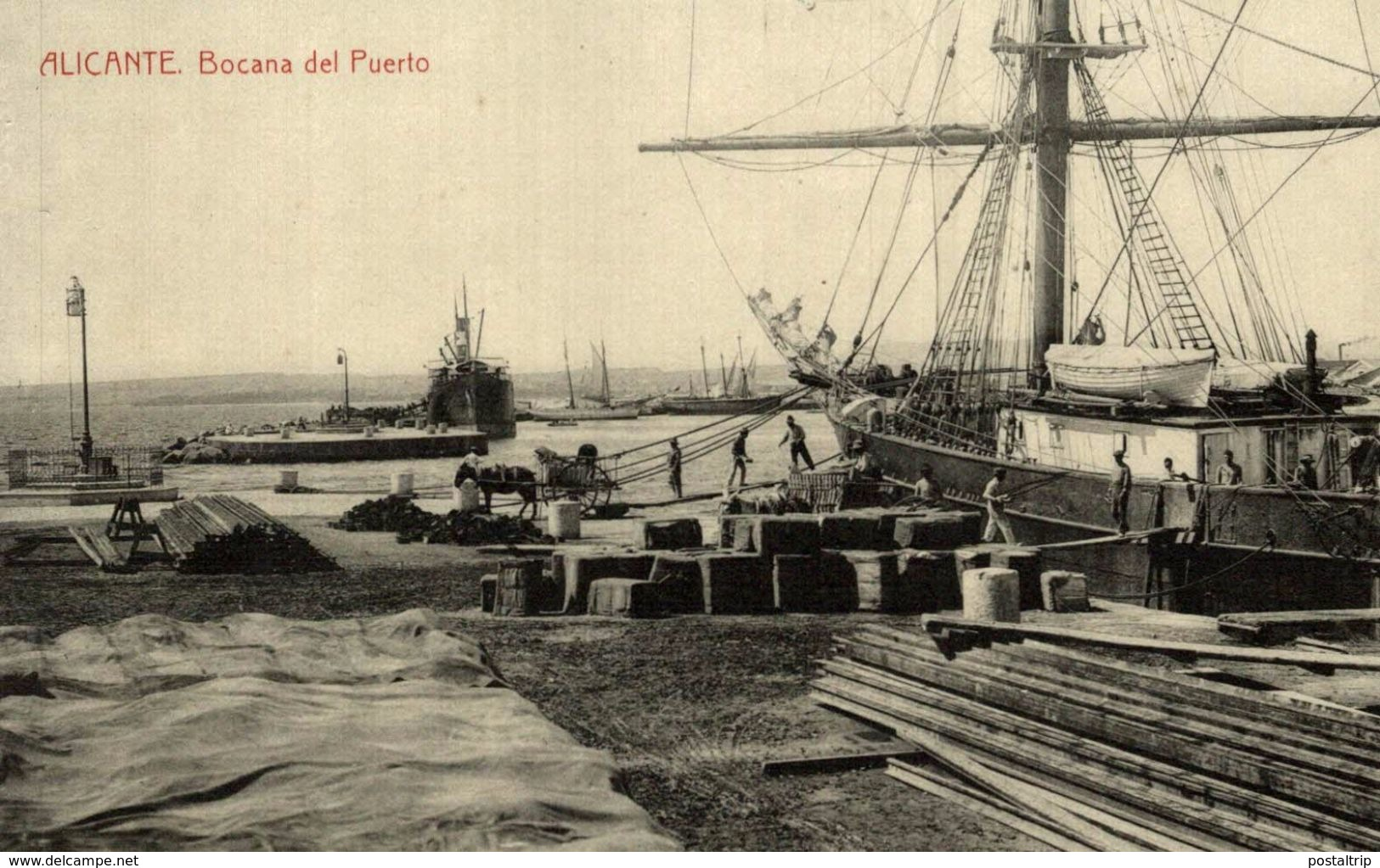 ALICANTE , BOCANA DEL PUERTO - Alicante