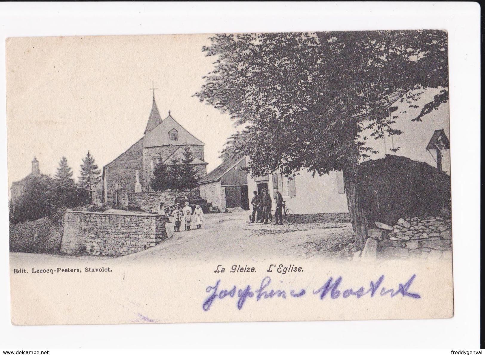 LA GLEIZE EGLISE - Stoumont