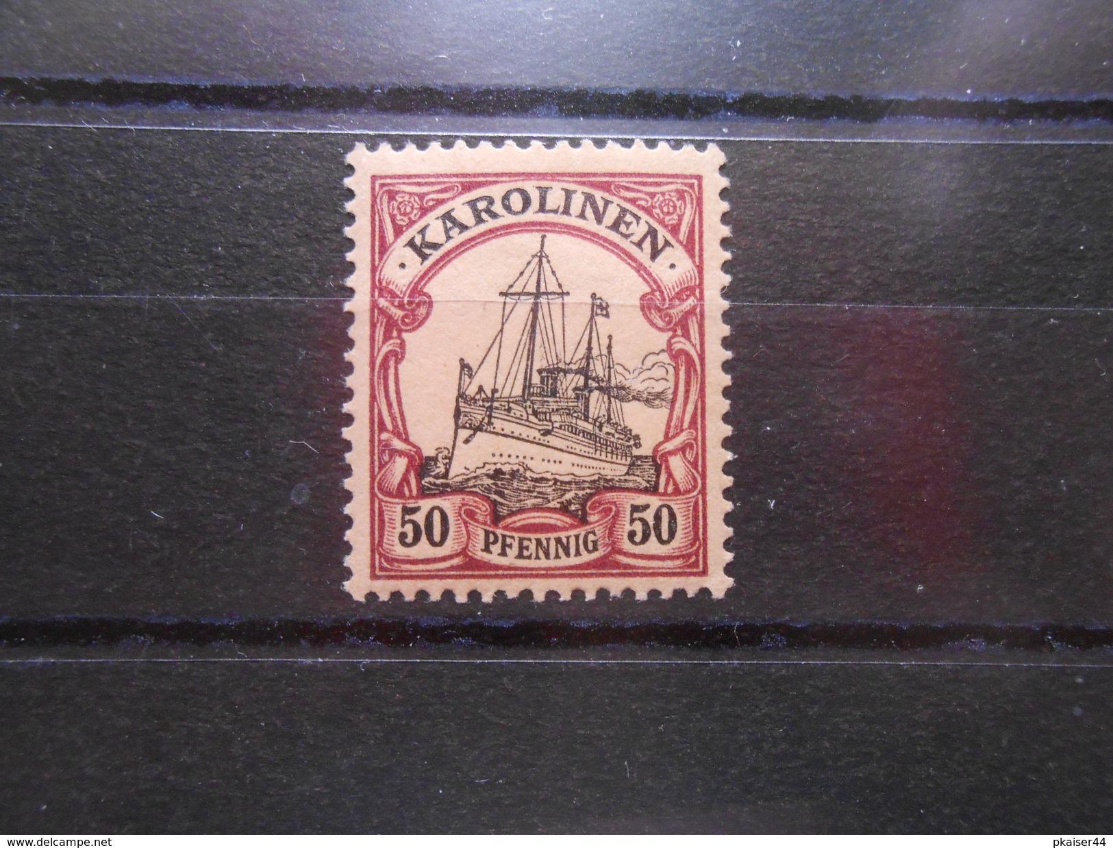 D.R.Mi 14  50Pf**/MNH  Deutsche Kolonien (Karolinen) 1900  Mi 6,00 € - Colony: Caroline Islands