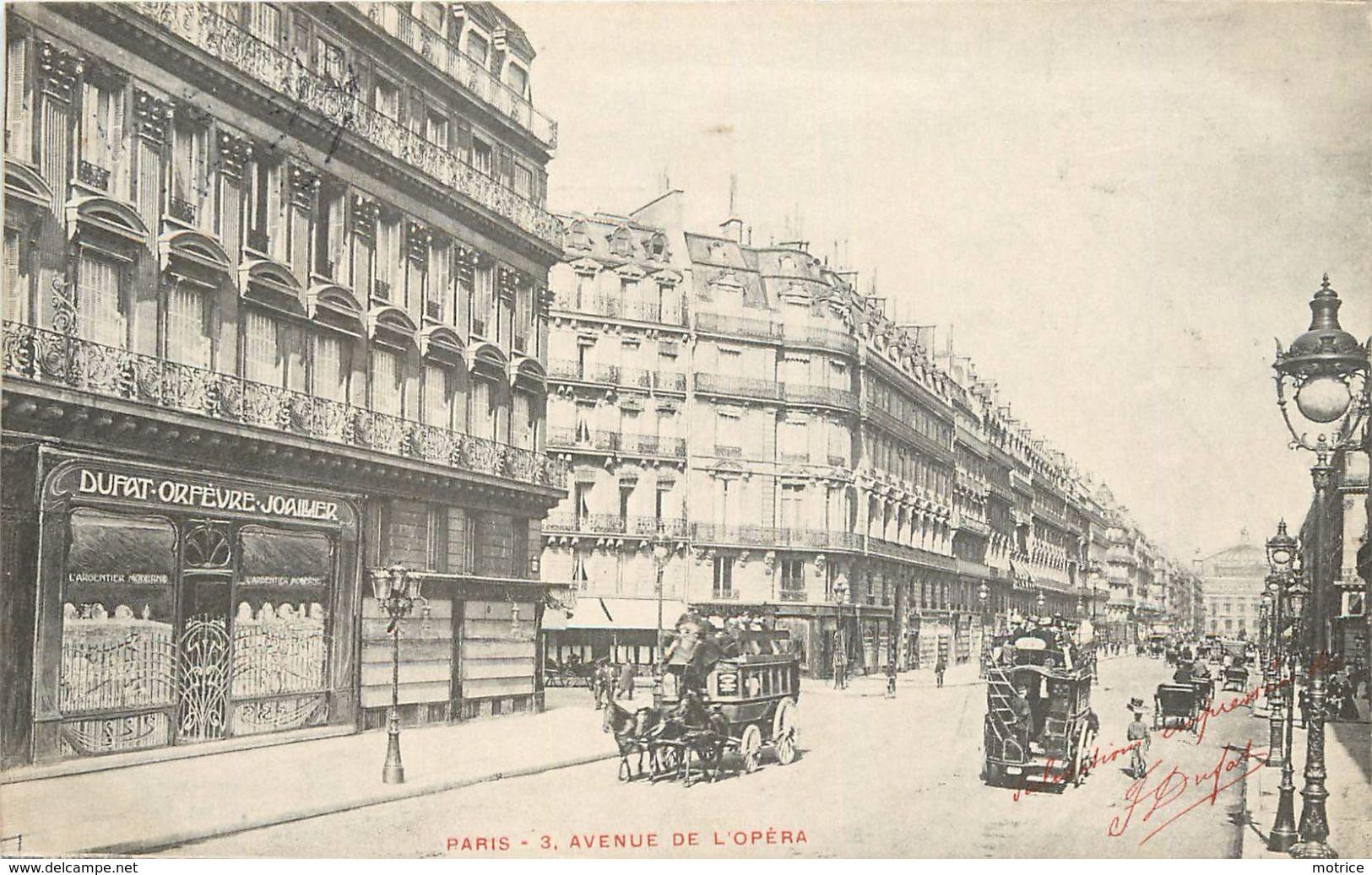 PARIS - 3,avenue De L'opéra (Dufa Orfèvre Joaillier) - Arrondissement: 01