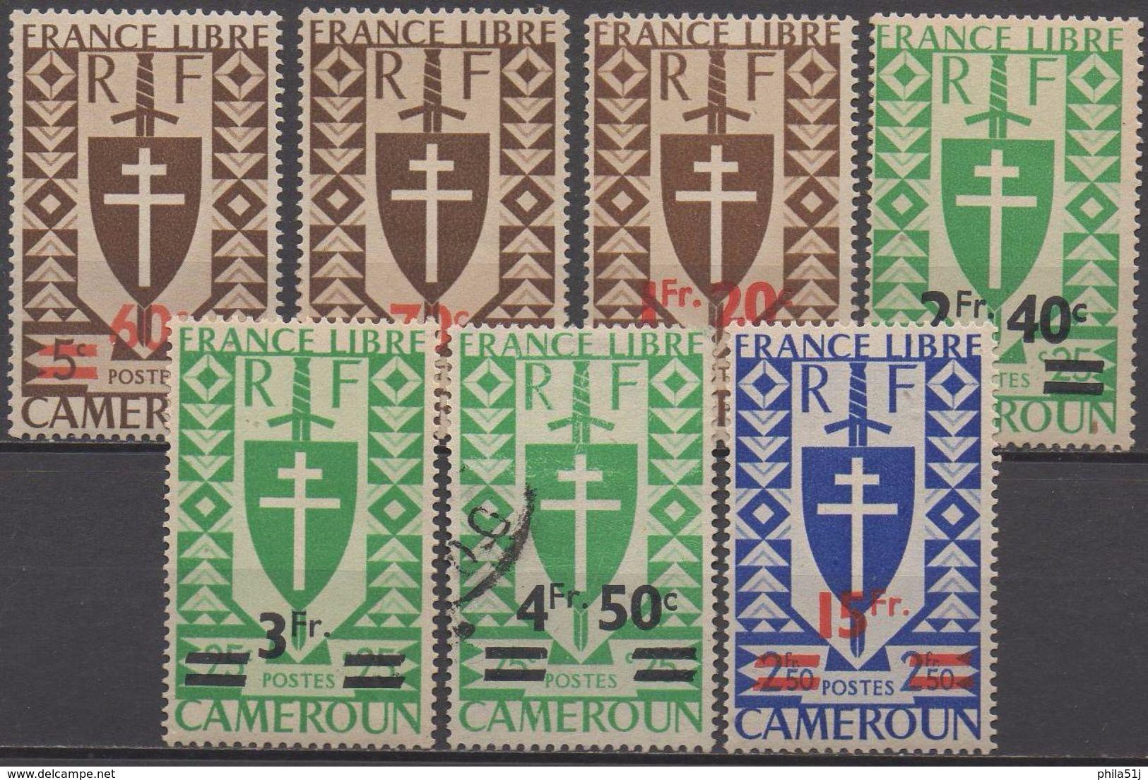 CAMEROUN   N°267/273 Sauf 272 NEUF** Plus  272  OBL VOIR  SCAN - Cameroun (1915-1959)