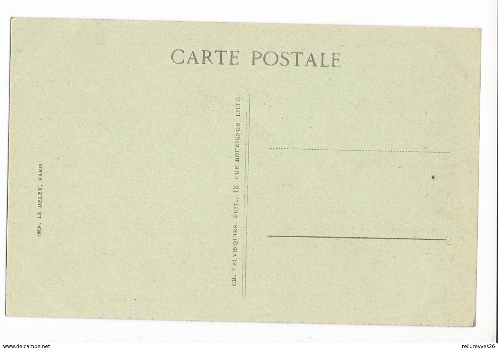 CPA , N°283, Guerre , Lille ,Ruines - Rue De Tournais ,après Le Bombardement  ,Ed. Le Deley - Guerre 1914-18