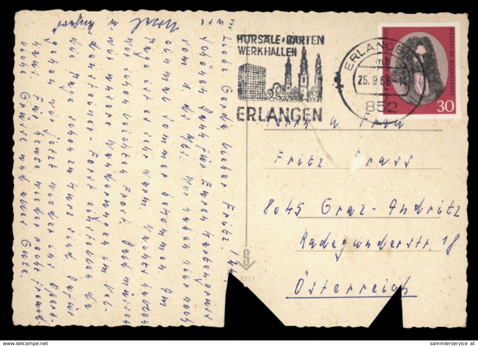 [015] Pferde-Karte 200, Ohne Angabe, Gel. 1966, Mängel - Pferde
