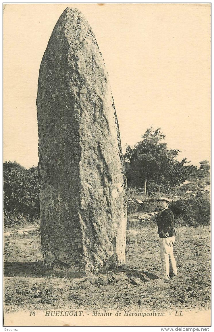 MENHIR DE HERAMPEULVEN - Dolmen & Menhirs
