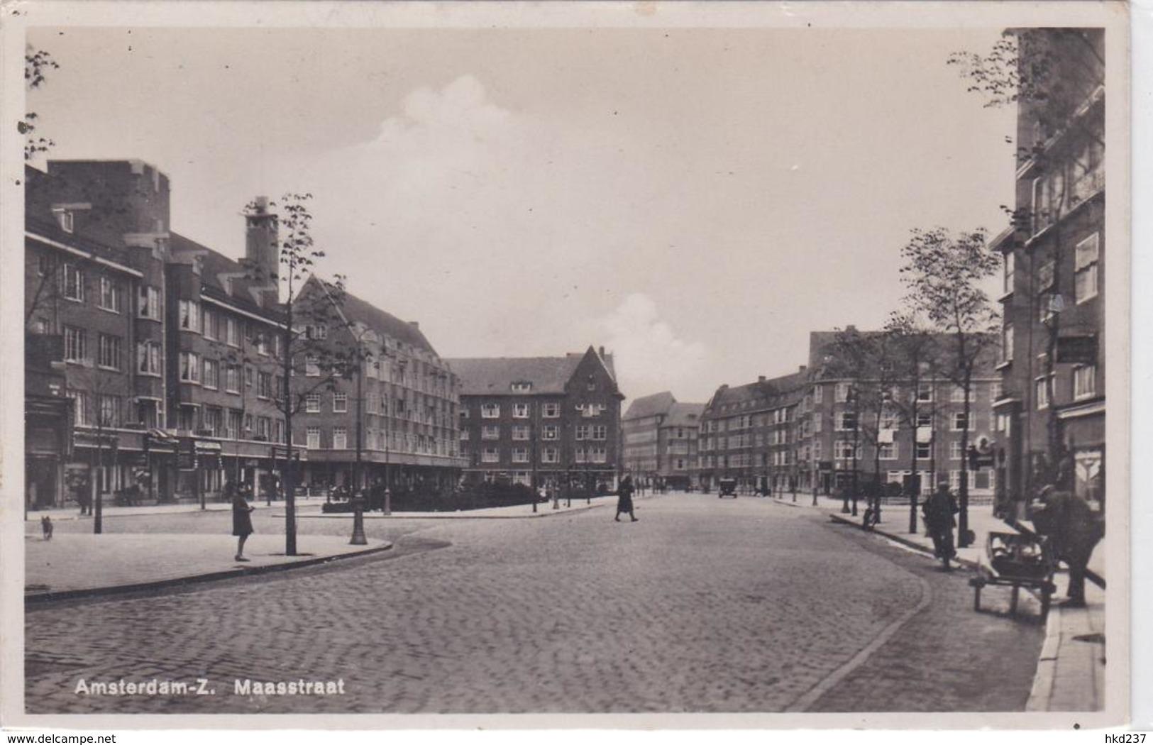 Amsterdam-Z. Maasstraat Volk 1167 - Amsterdam
