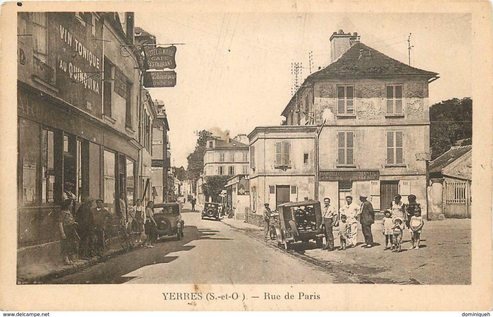 Lot De 50 CPA De Yerres 91 Plusieurs Animations - Postcards
