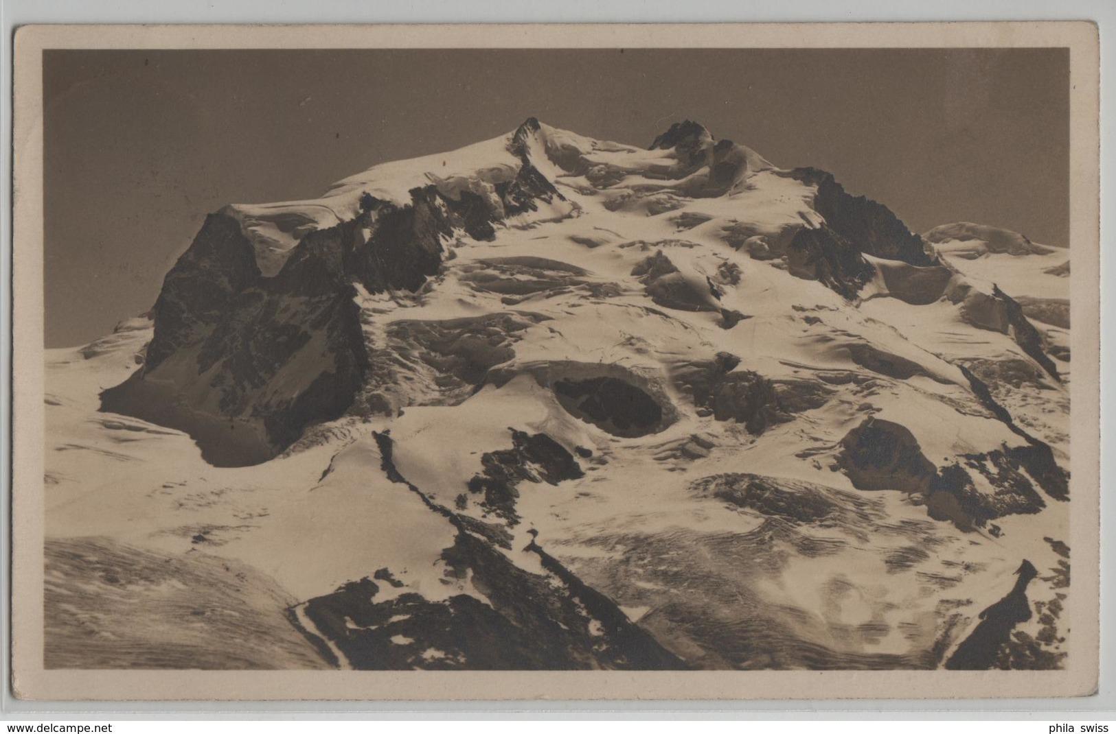 Monte Rosa Vom Gornergrat Aus - Photo: J. Gaberell - VS Valais
