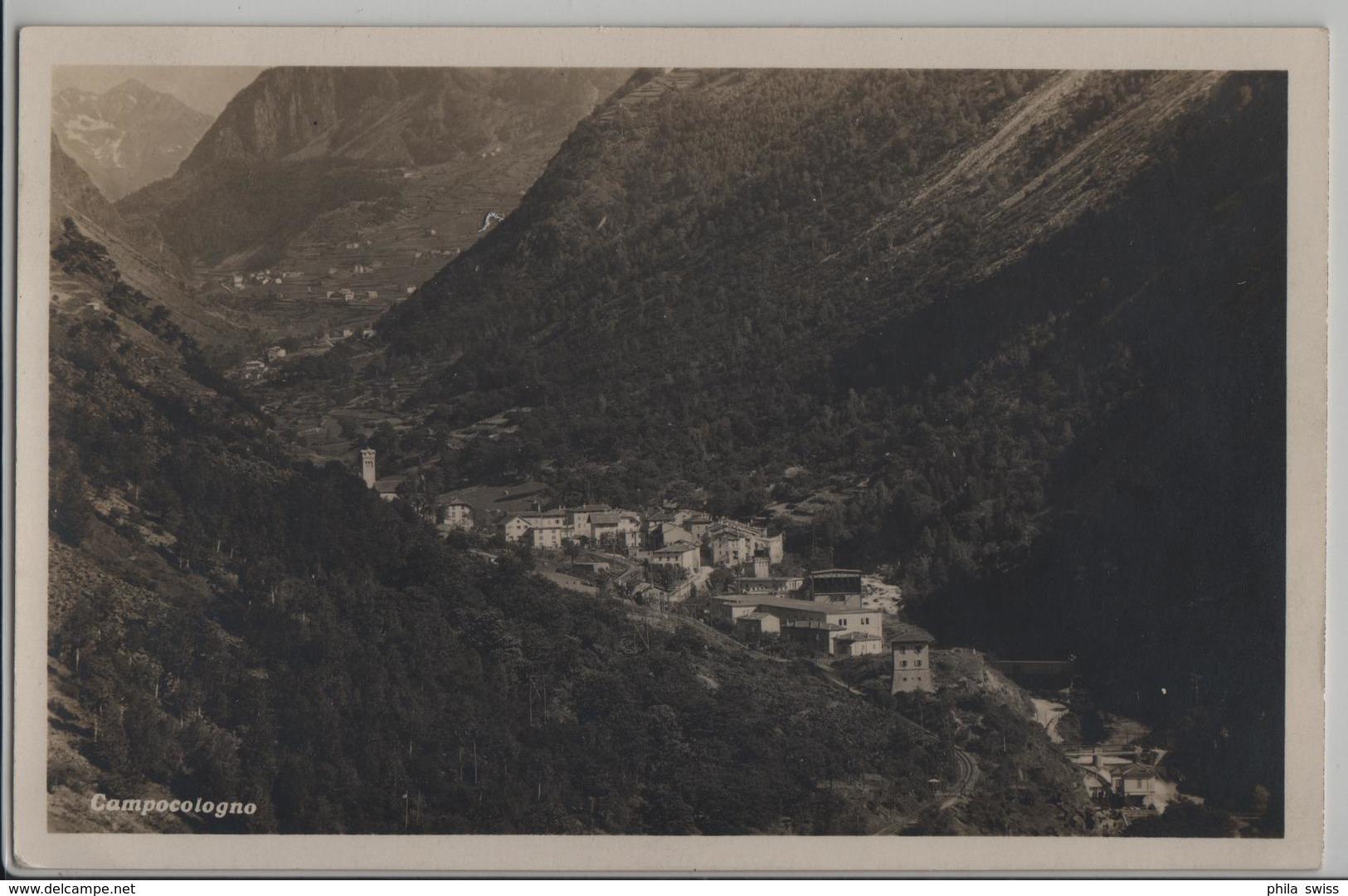 Campocologno - Vue Generale - Photo: L. Pool - GR Grisons