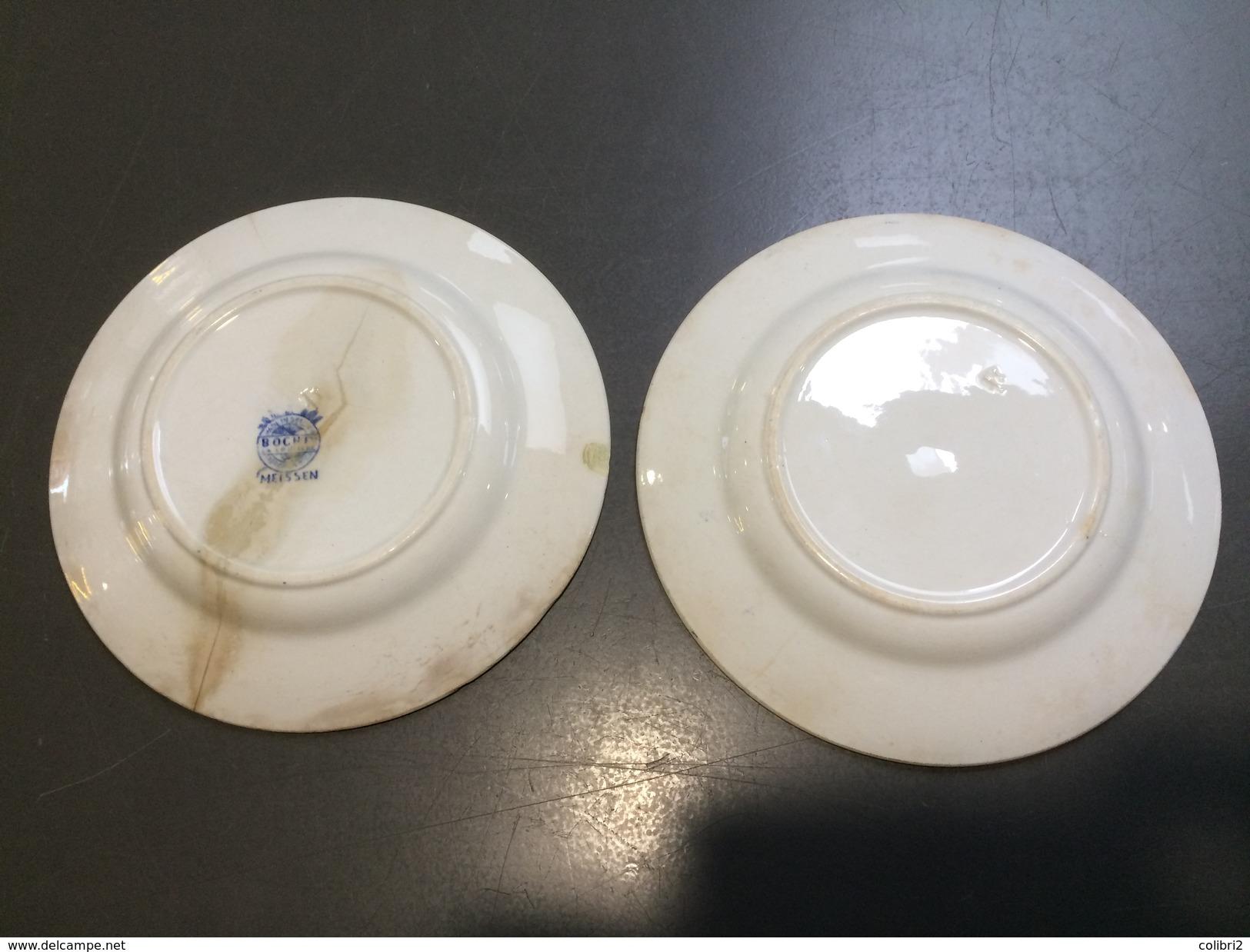 BOCH La Louvière MEISSEN - Plates