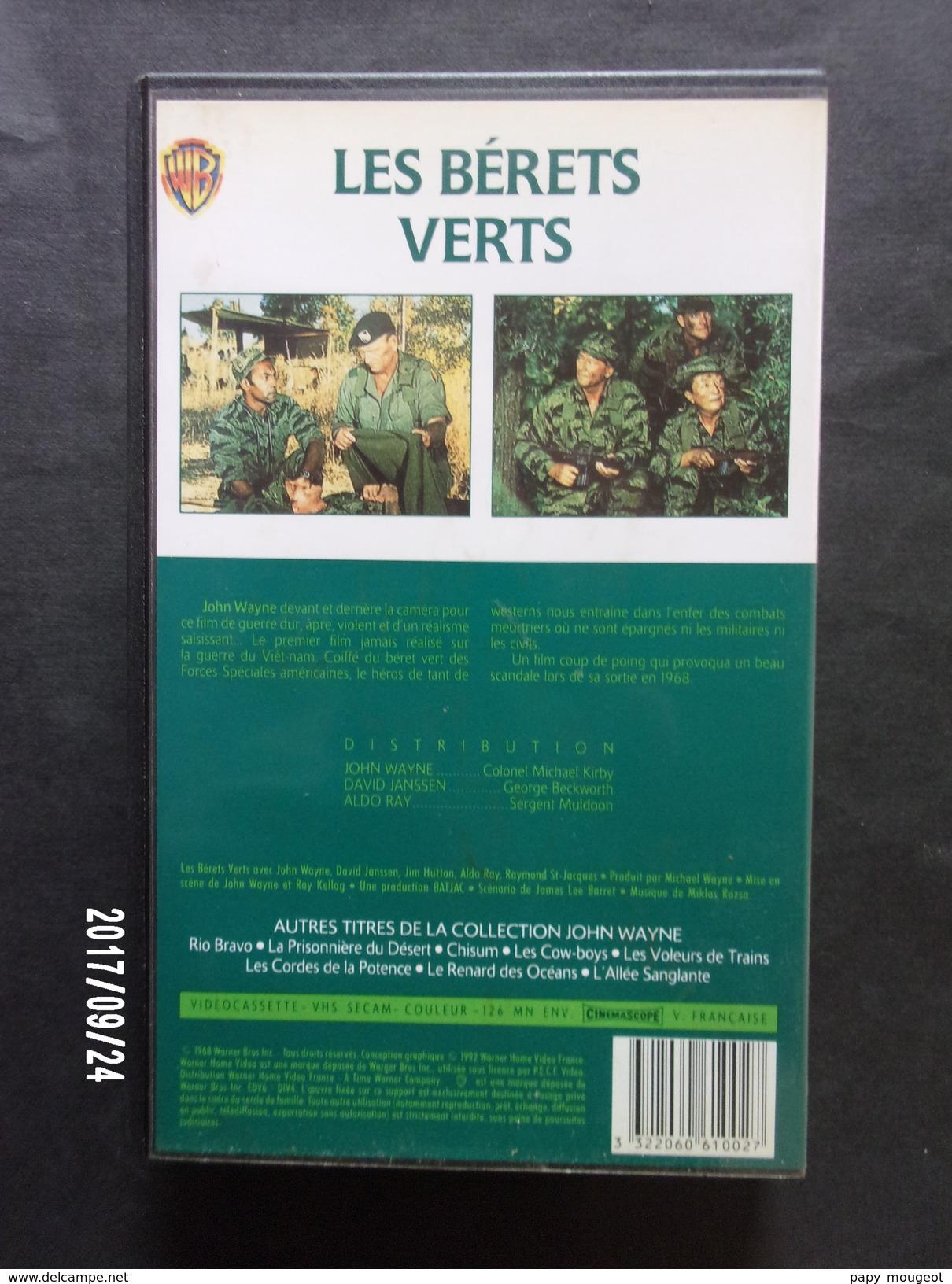Les Bérets Verts - Geschichte