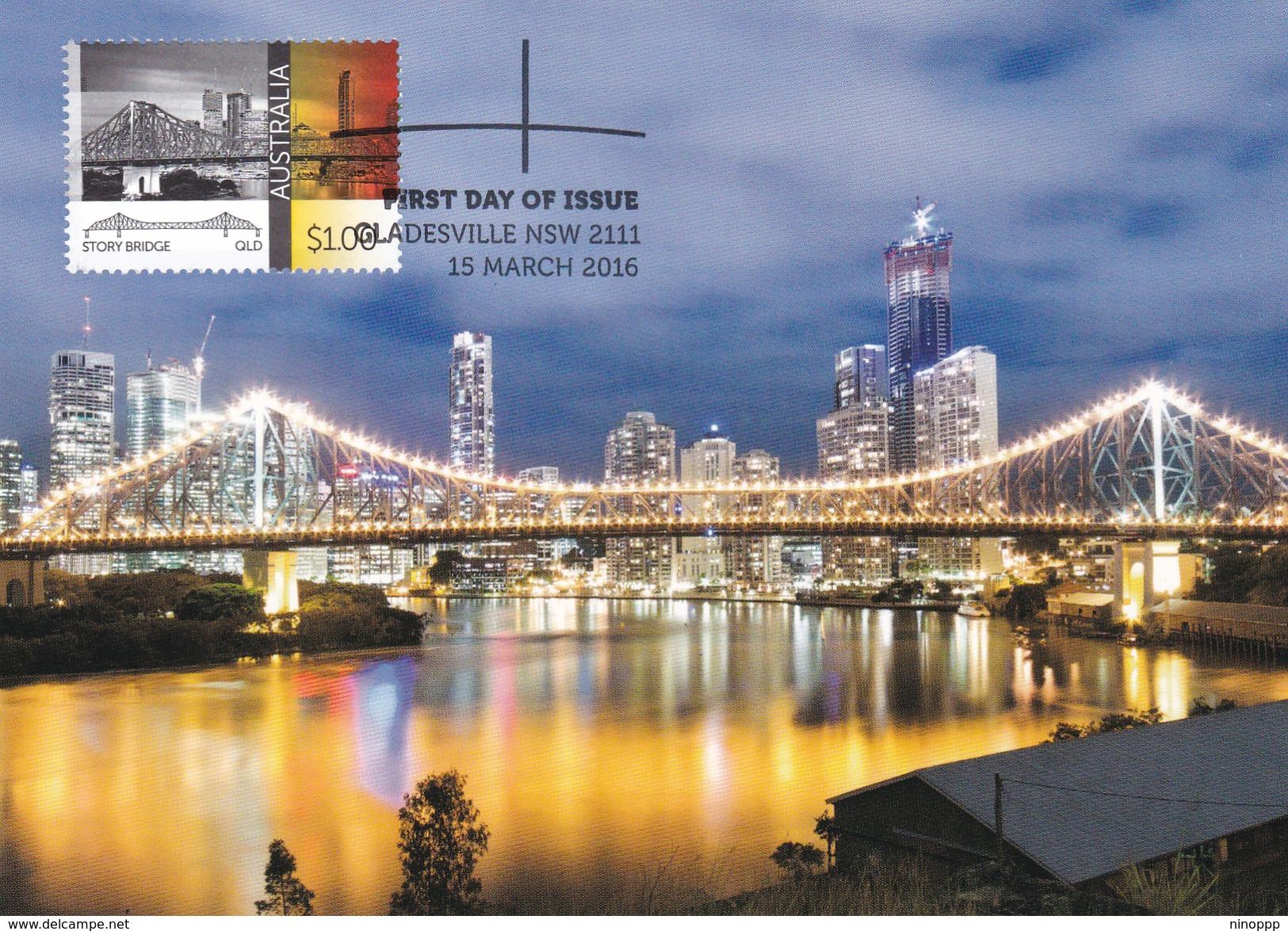 Australia 2015 Australian Bridges, Story Bridge, Maximum Card - Maximumkaarten