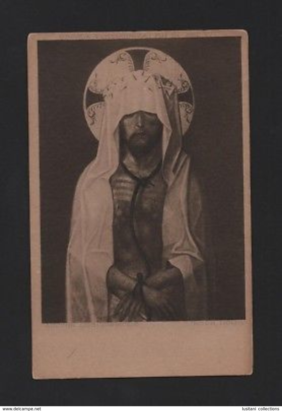1920 Years ART POSTCARD PORTUGAL CATHOLIC RELIGION JESUS CHRIST  Z1 - Other Collections
