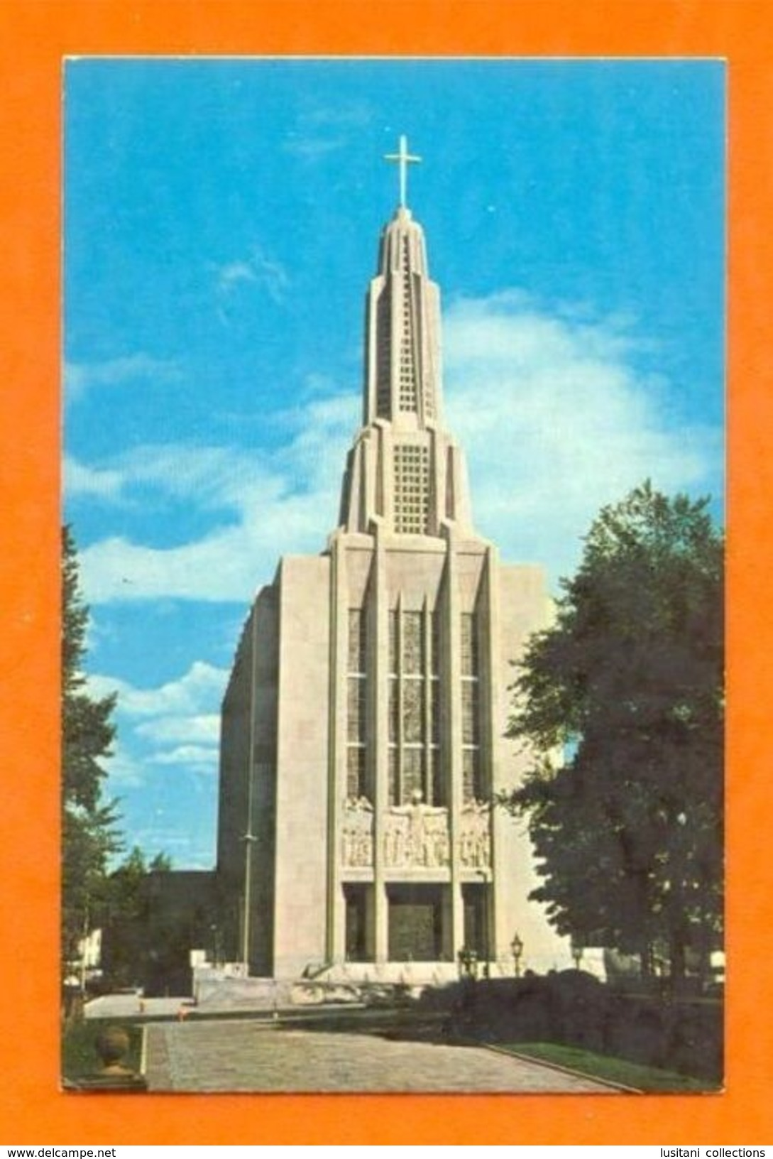 USA CONNECTICUT HARTFORD ST. JOSEPH CATHEDRAL CATHEDRALE 1960 YEARS POSTCARD Z1 - Unclassified