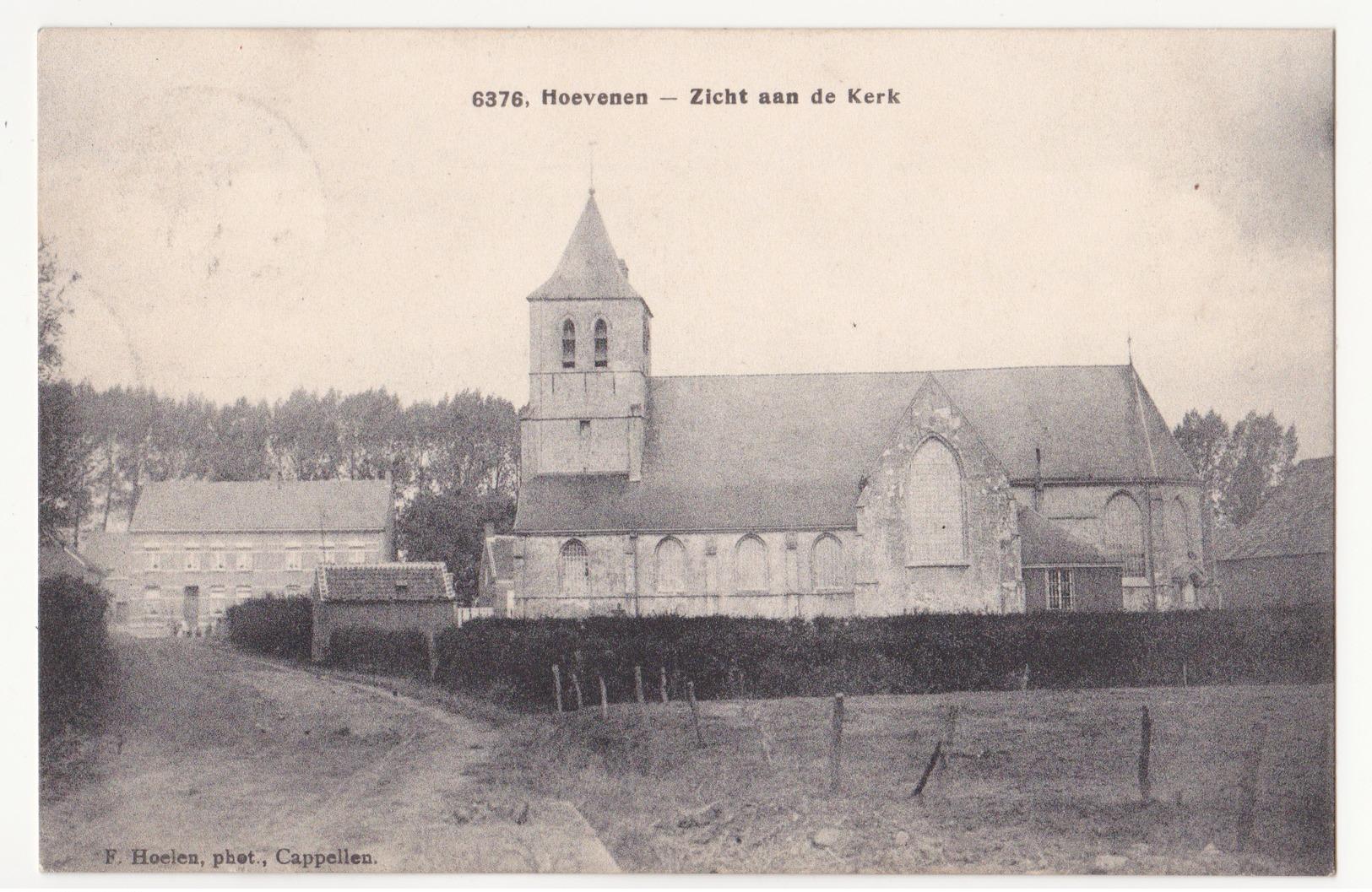 Hoevenen: Kerk. - Stabroek