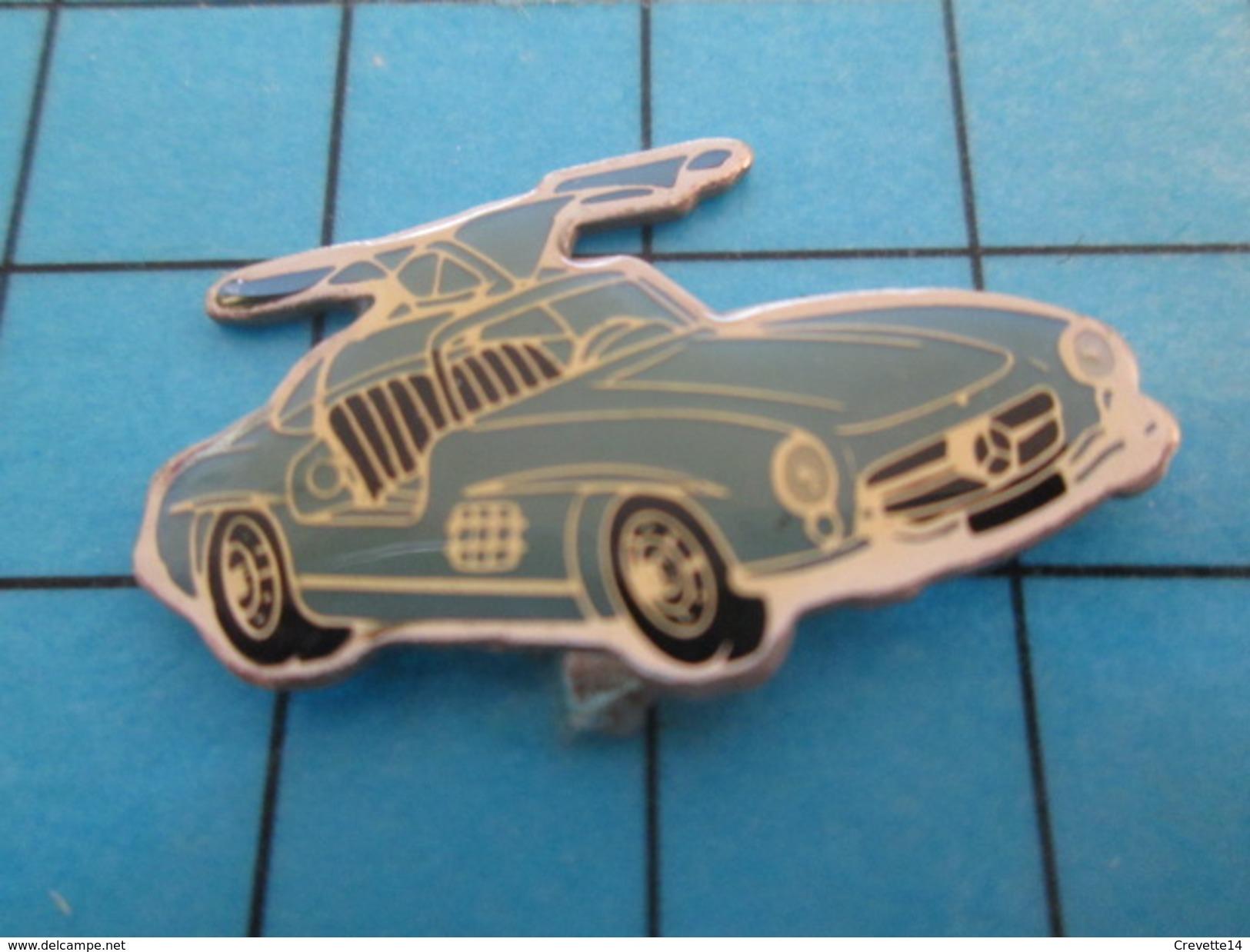 Pin414c Pin's Pins / Beau Et Rare / AUTOMOBILE /  MERCEDES ANNEES 50/60 AILES PAPILLON - Mercedes