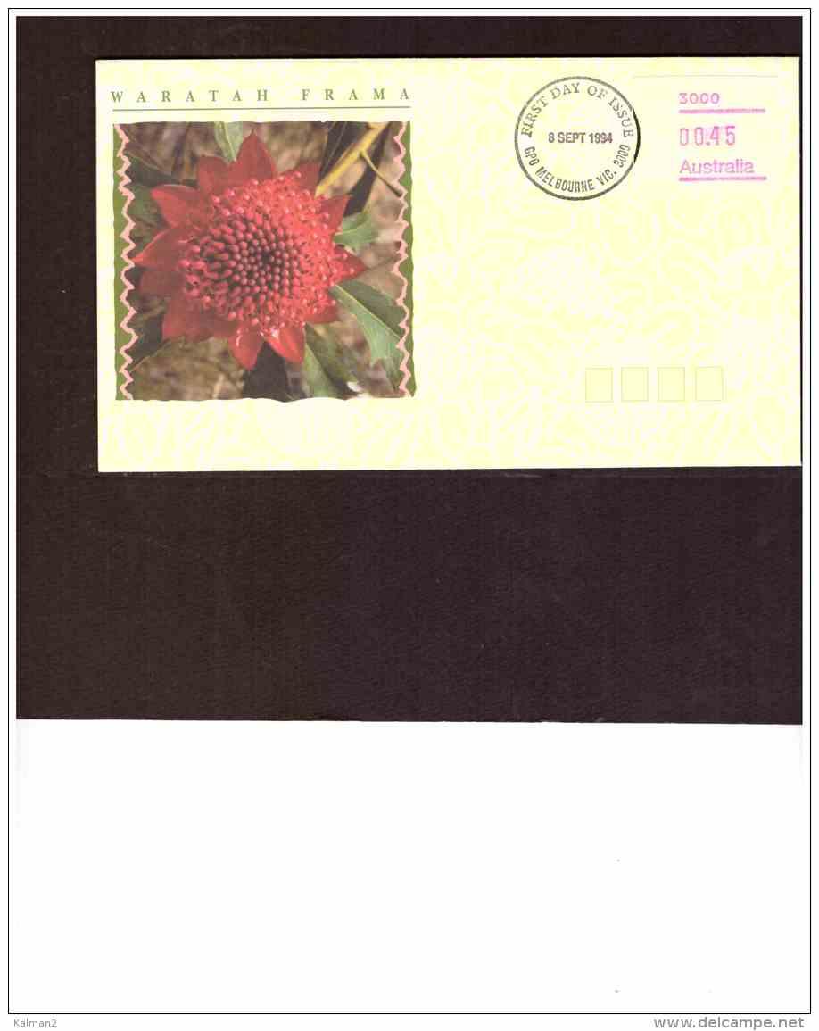 AU170   -    FDC  V WARATAH  FRAMA  00.45   /   MELBOURNE   8 SEP. 1994 - Ersttagsbelege (FDC)