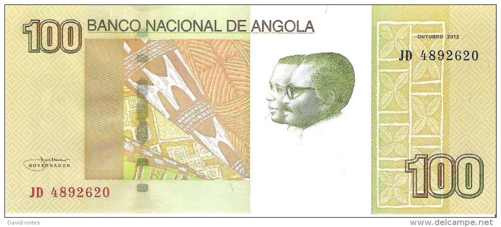 Angola - Pick 153 - 100 Kwanzas 2012 - Unc - Angola