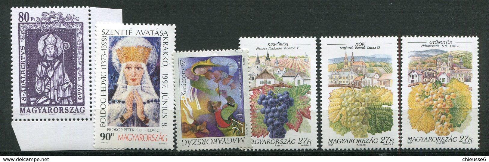 Hongrie ** - Timbres De L' Année 1997 - Hungary