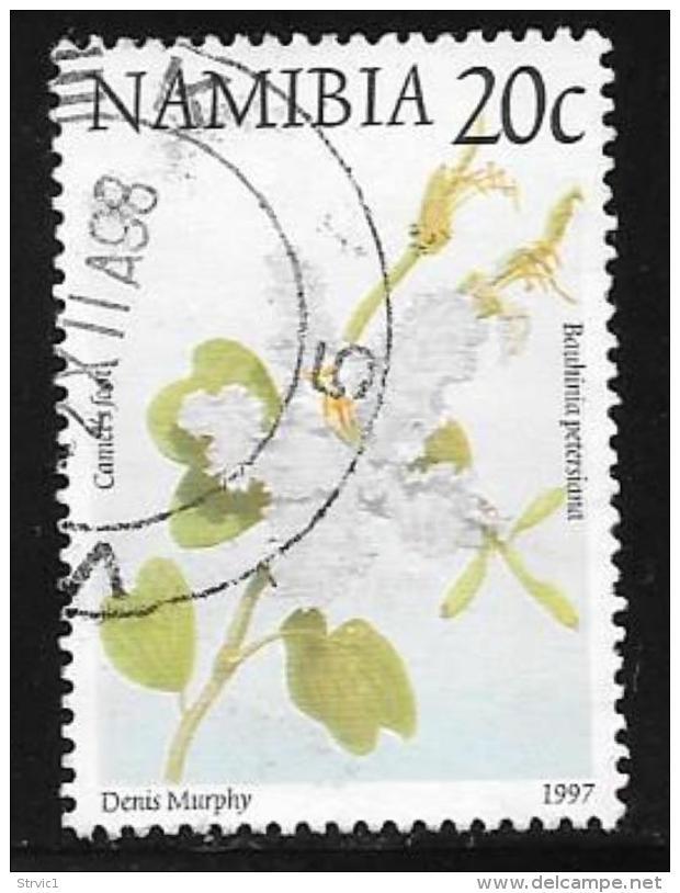 Namibia, Scott # 855 Used Flowers, 1997 - Namibia (1990- ...)