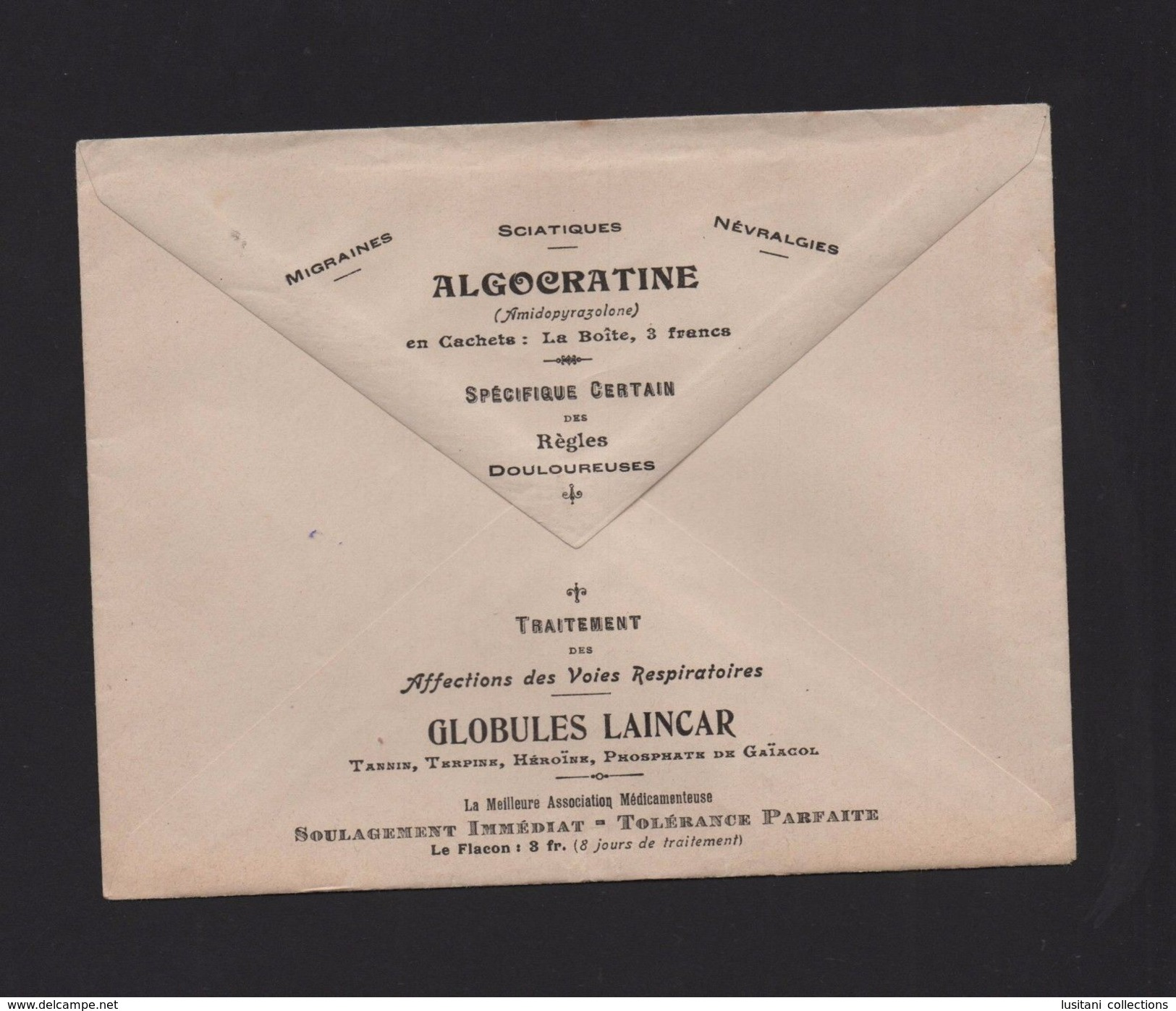 PHARMACY ADVERT COVER MEDICAL RECIPES MEDICINE 1909 FRANCE PARIS Pharmaceutical - Other Collections