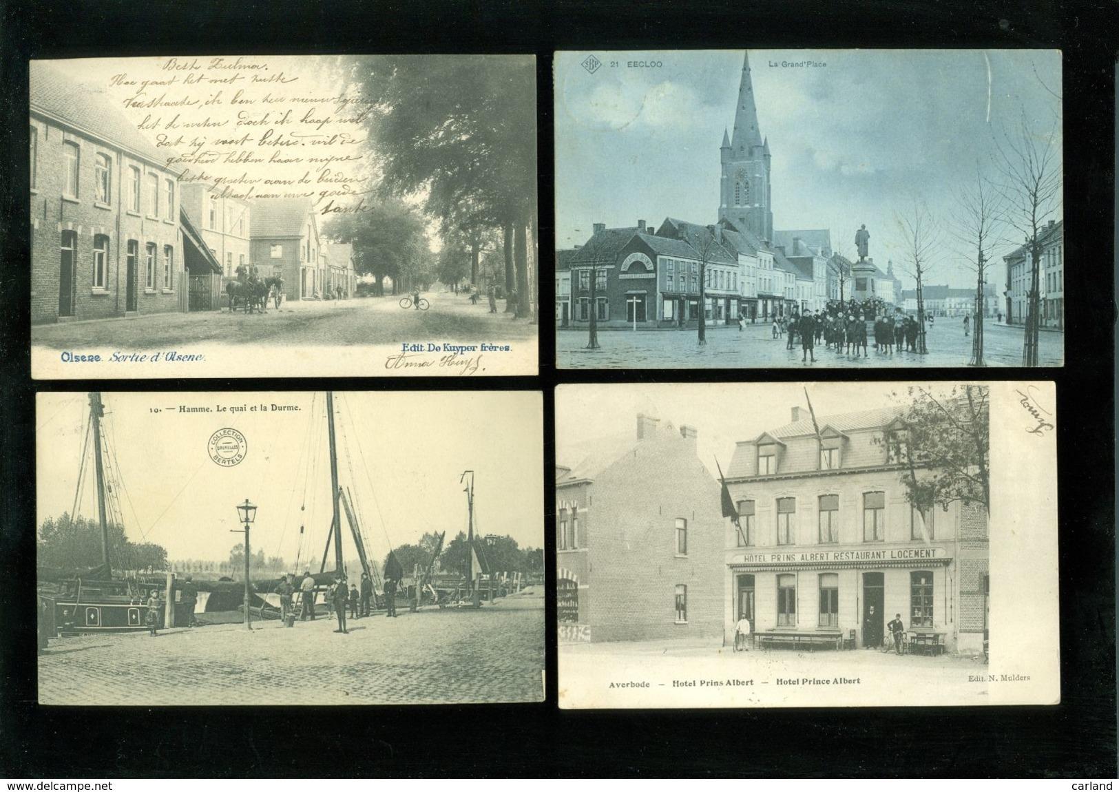 Beau Grand Lot De 100 Cartes Postales De Belgique     Mooi Groot Lot Van 100 Postkaarten Van België - 100 Scans - Cartes Postales