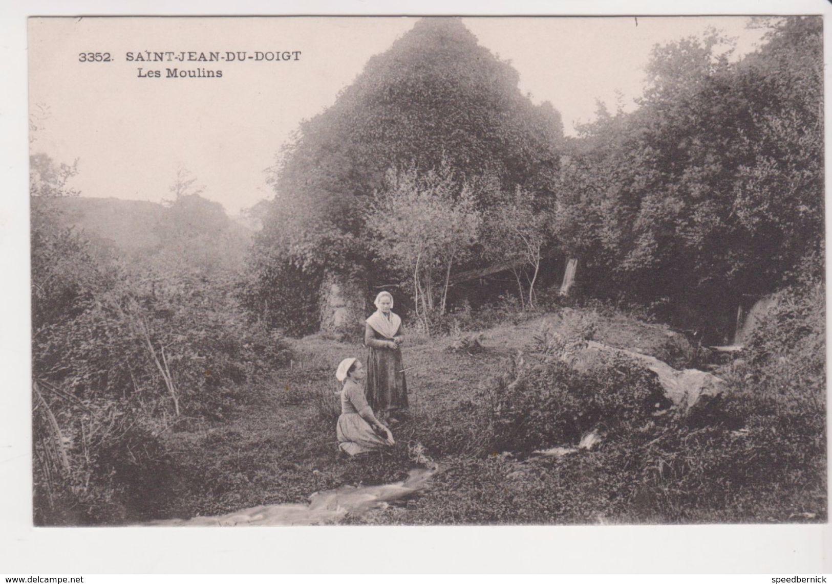 26319 -2 Cpa - Saint Jean Du Doigt -les Moulins 3352 Ed? -vue Panoramique 684 Ed ? - Saint-Jean-du-Doigt