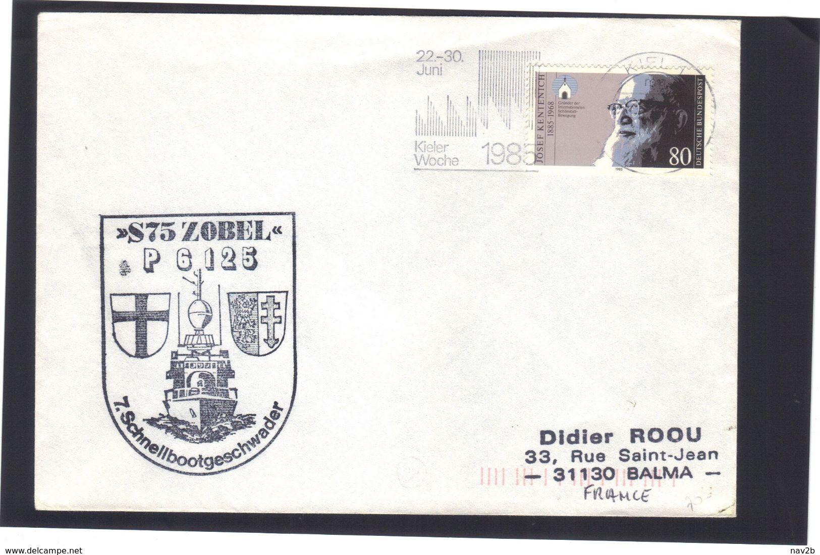 POSTE  NAVALE  .    S75  ZOBEL .   P6125 .  1985 . - [7] Federal Republic