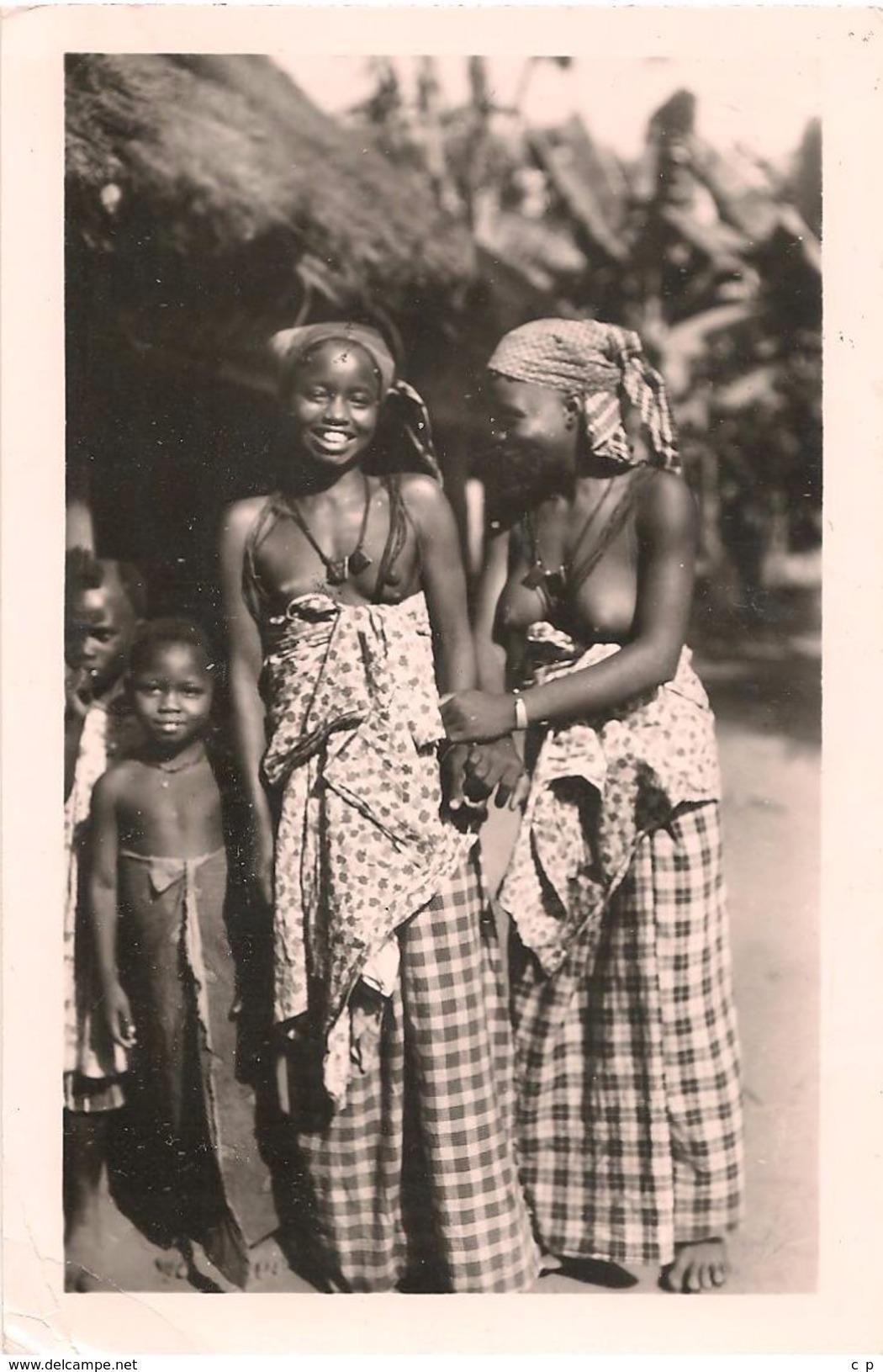 Guinnee - Conakry - Famille Soussou -  60 - Seins Nus  -   CPA° - Guinée Française