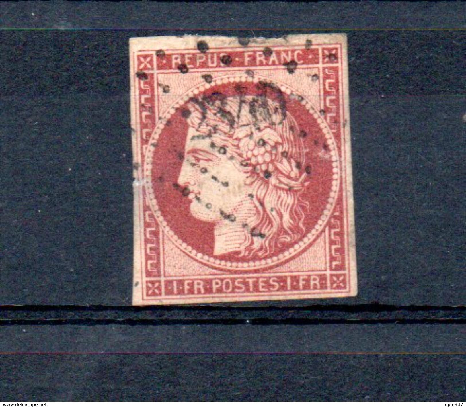 FRANCE N°6 - 1849-1850 Cérès