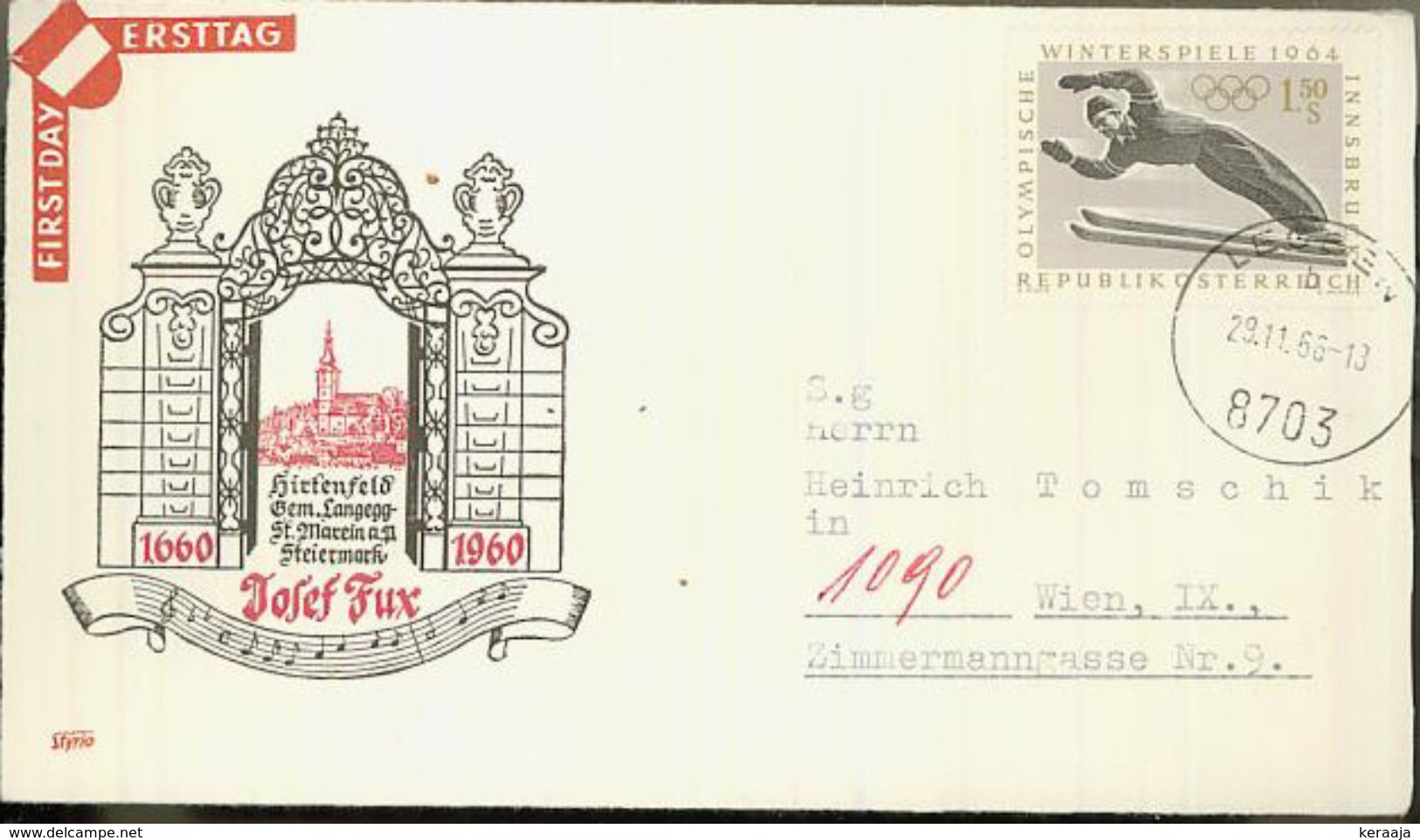 Austria/Österreich 1966 Cover - 1945-.... 2nd Republic