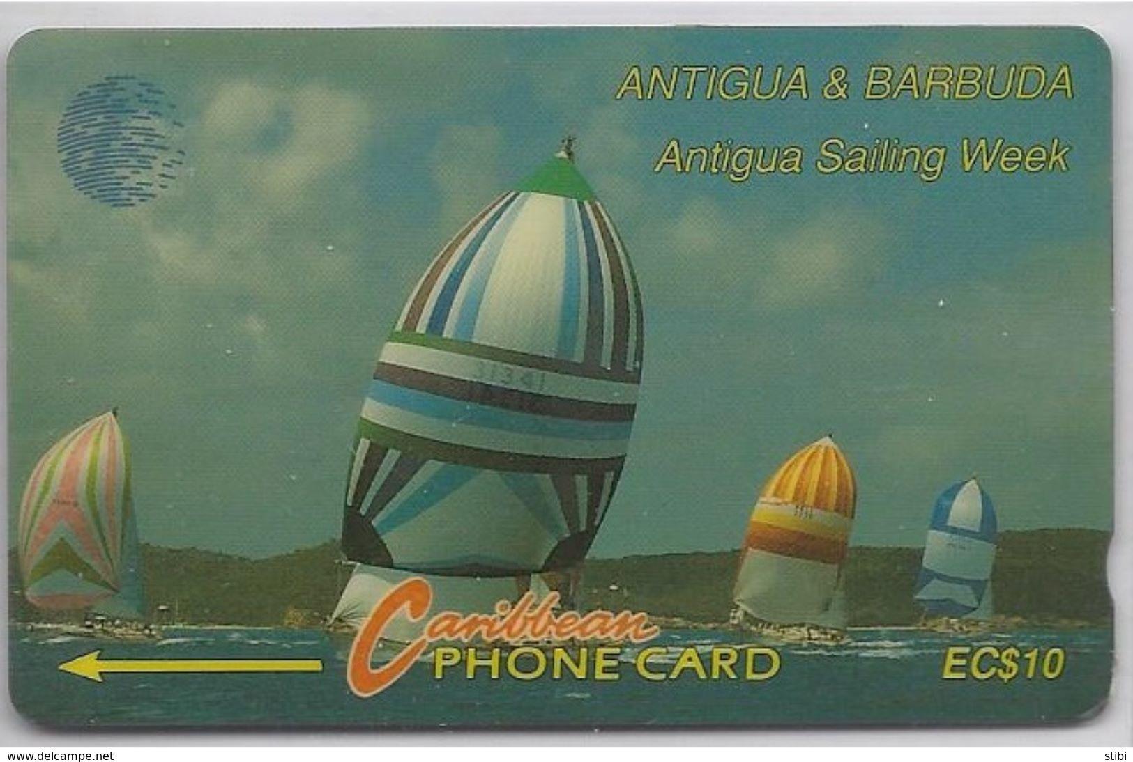 ANTIGUA & BARBUDA - ANTIGUA SAILING WEEK - 13CATA - - Antigua And Barbuda