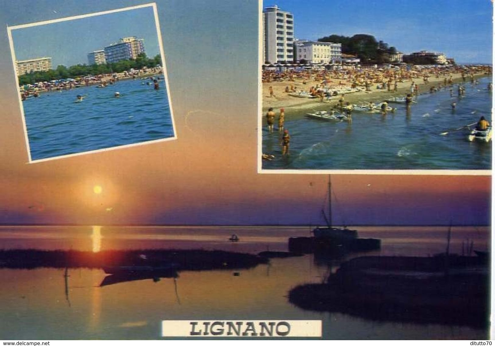 Lignano - 31 - Formato Grande Viaggiata – E 3 - Udine