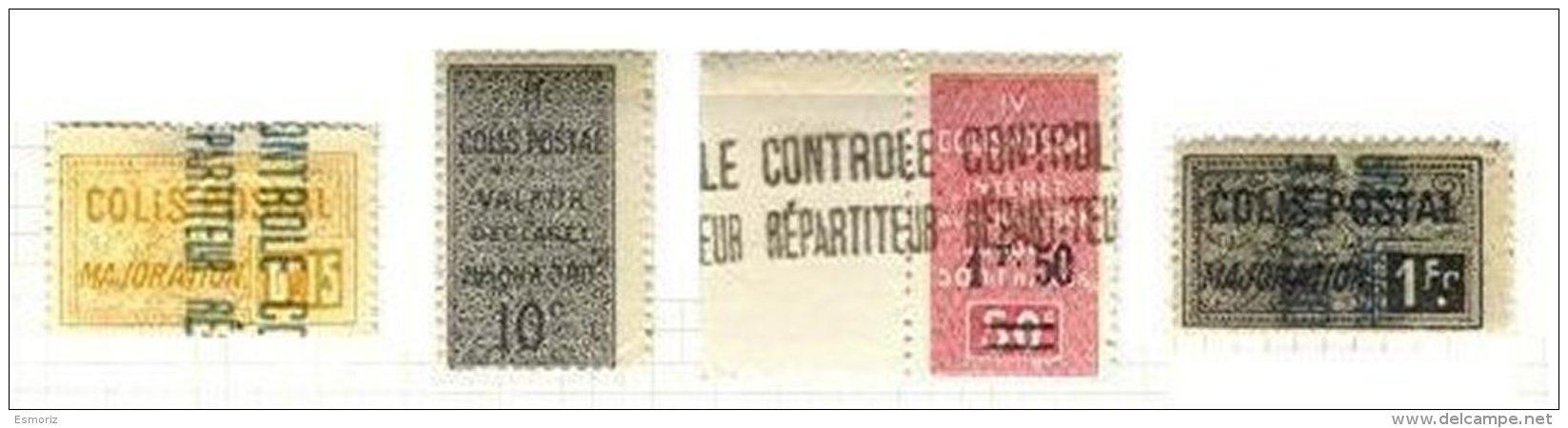 ALGERIA, Railway Parcels, * MLH, F/VF - Algeria (1924-1962)