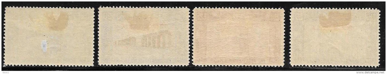 Tripolitania, Scott # B50-3 Mint Hinged Italy Semi-Postal Stamps Overprinted, 1930, CV$215.00, # B50 Is Thin, CV$35.00, - Tripolitania