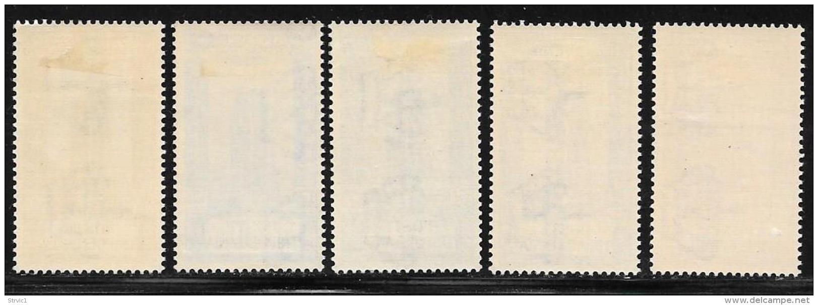 Tripolitania, Scott # B54-8 Mint Hinged Italy Semi-Postal Stamps Ancient Arch, Overprinted, 1930 - Tripolitania