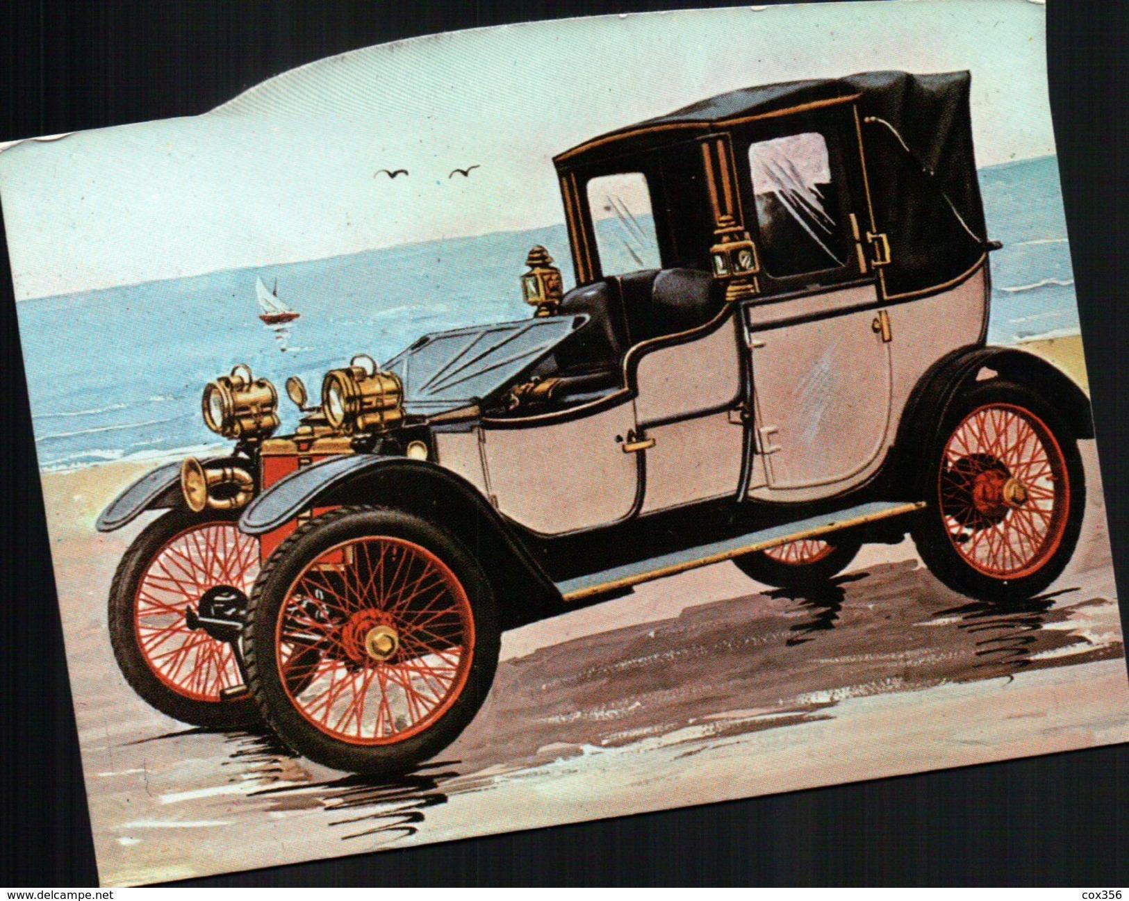 CPSM  AUTOMOBILES - Taxi & Carrozzelle