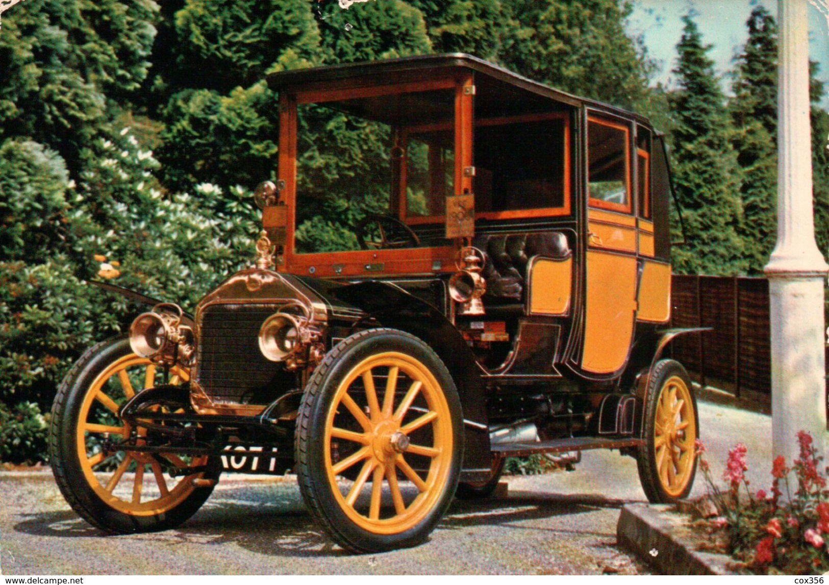 CPSM  AUTOMOBILES WOLSELEY SIDDELEY 1906 - Taxi & Carrozzelle